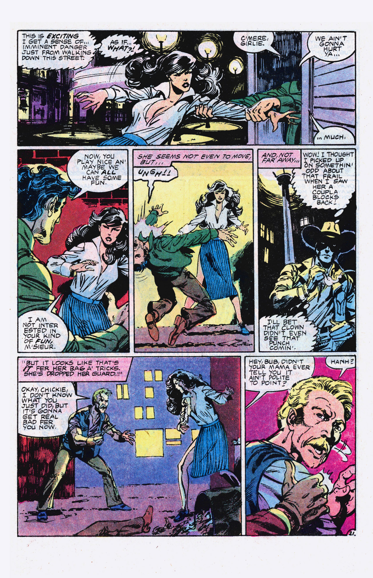 Read online Alpha Flight (1983) comic -  Issue #9 - 22