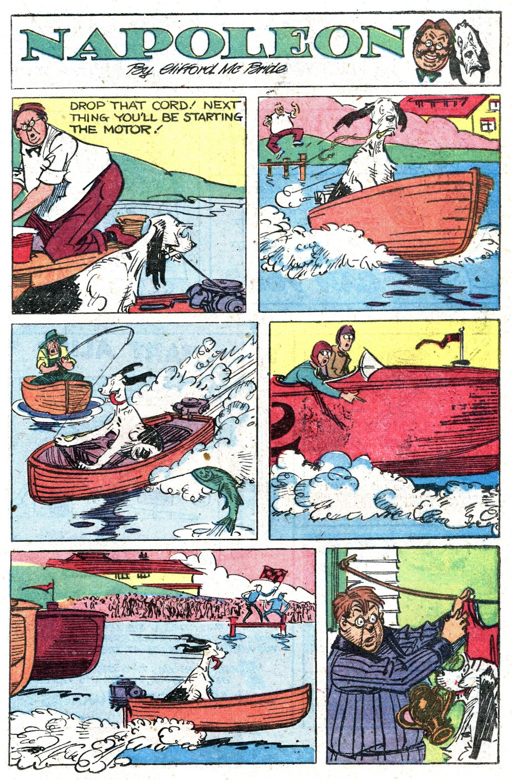 Read online Famous Funnies comic -  Issue #157 - 35