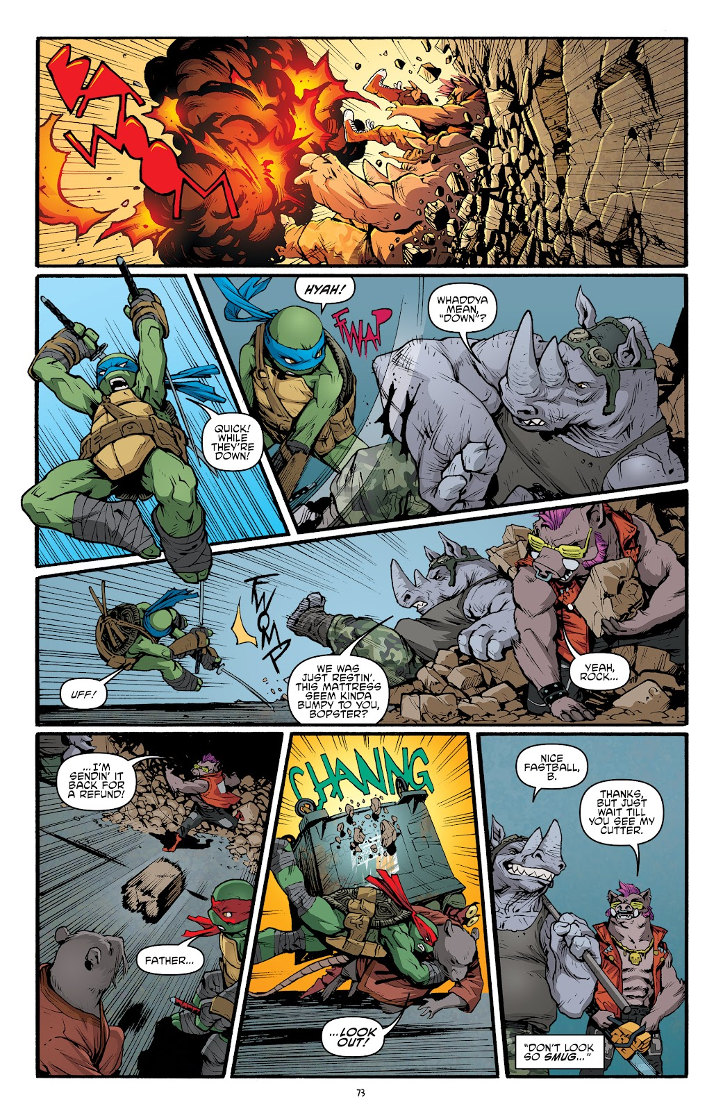 Read online Teenage Mutant Ninja Turtles: The IDW Collection comic -  Issue # TPB 5 (Part 2) - 51