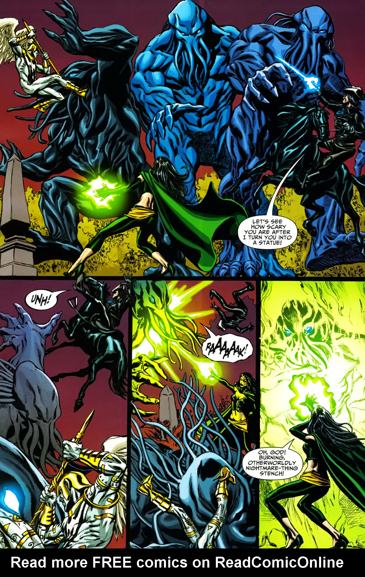Read online Shadowpact comic -  Issue #19 - 11