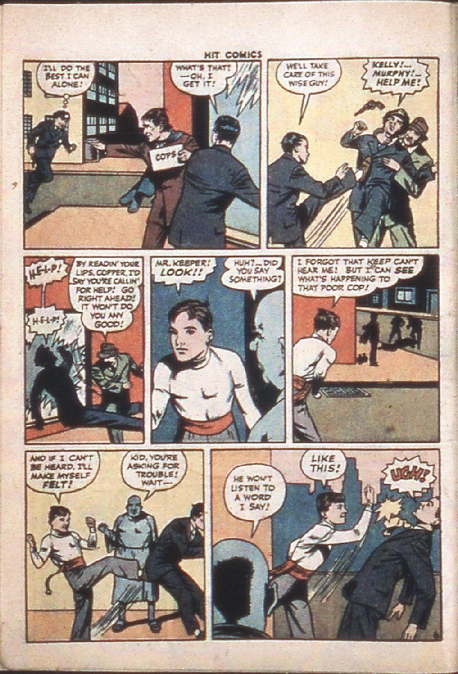 Read online Hit Comics comic -  Issue #37 - 8