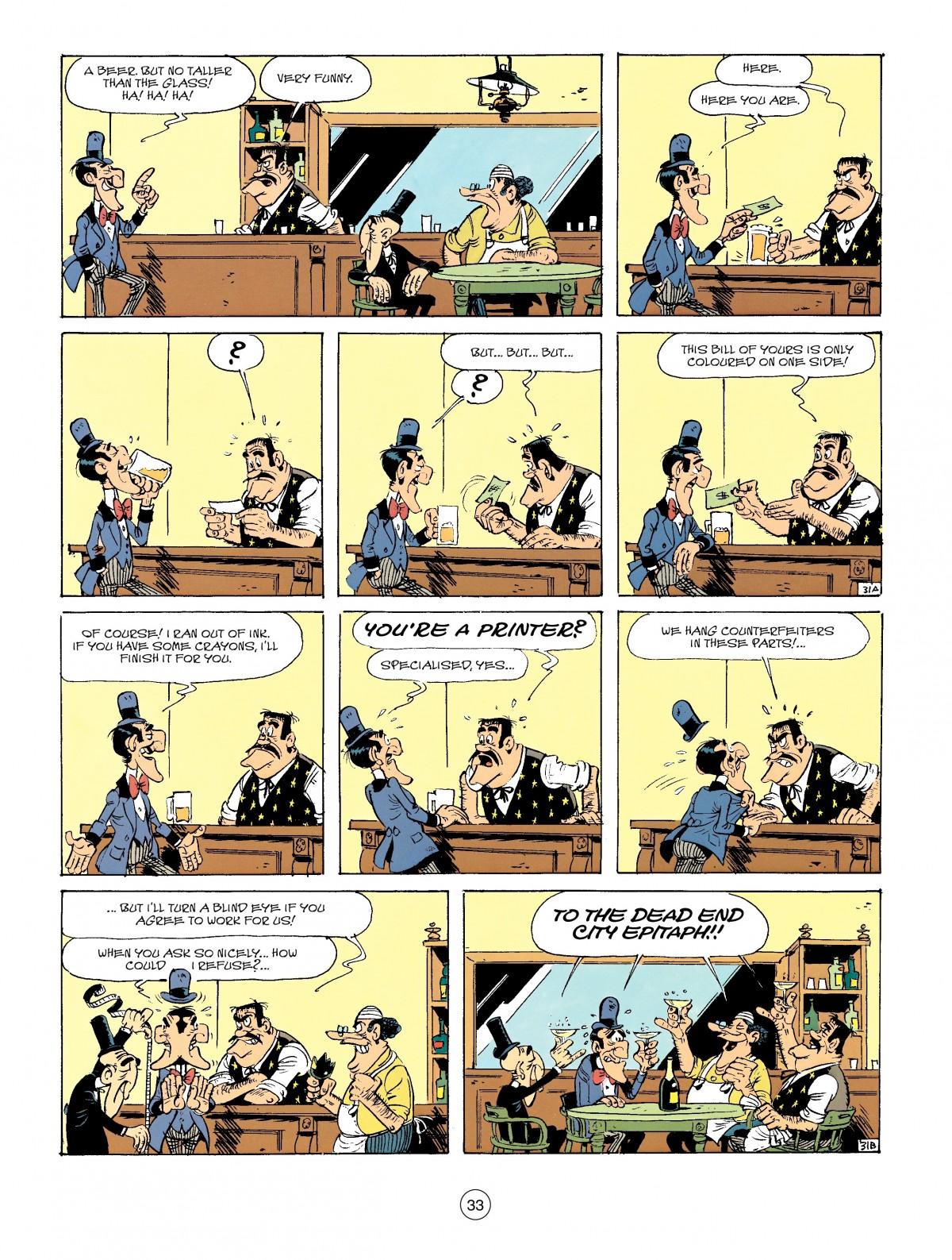 Read online A Lucky Luke Adventure comic -  Issue #41 - 33
