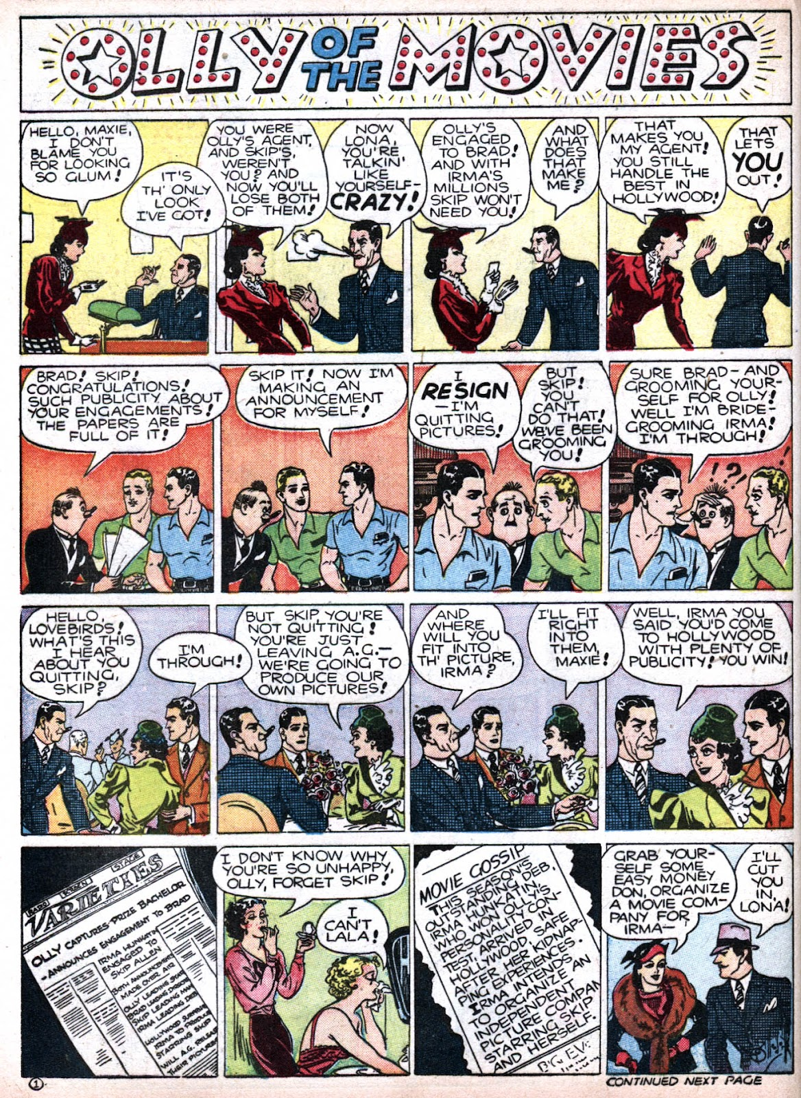 Read online Famous Funnies comic -  Issue #79 - 44
