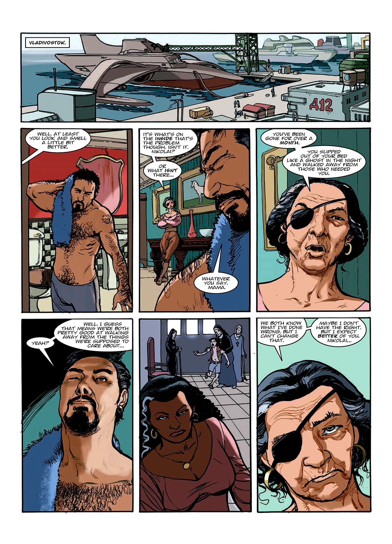 Read online Nikolai Dante comic -  Issue # TPB 10 - 148