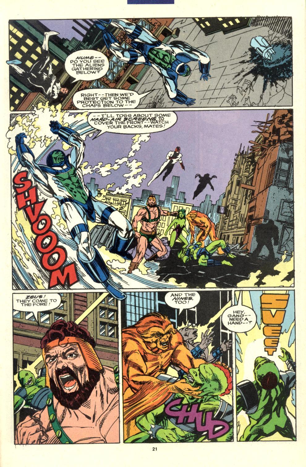 Read online Alpha Flight (1983) comic -  Issue #99 - 16