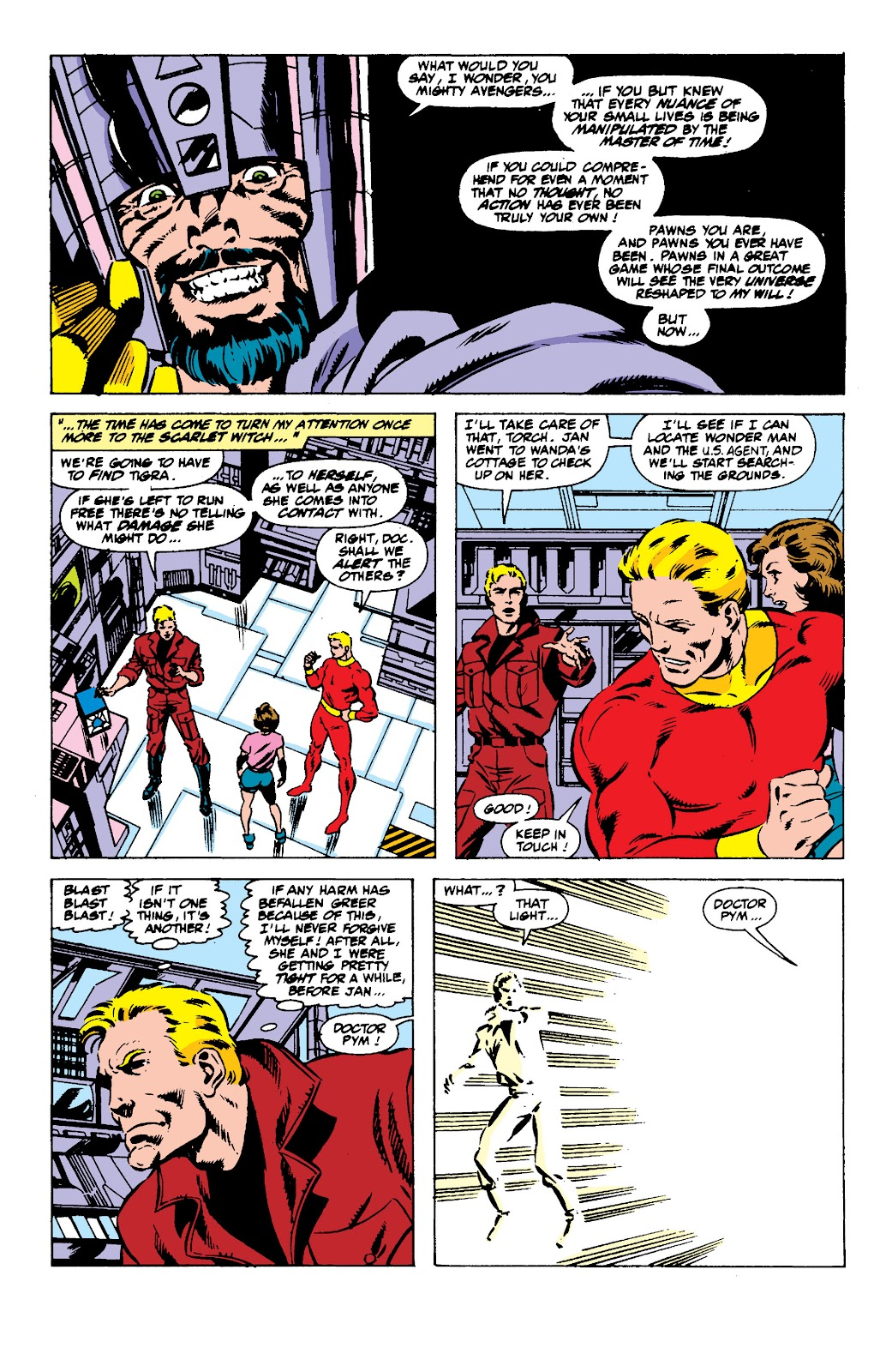 Avengers West Coast (1989) issue 56 - Page 8