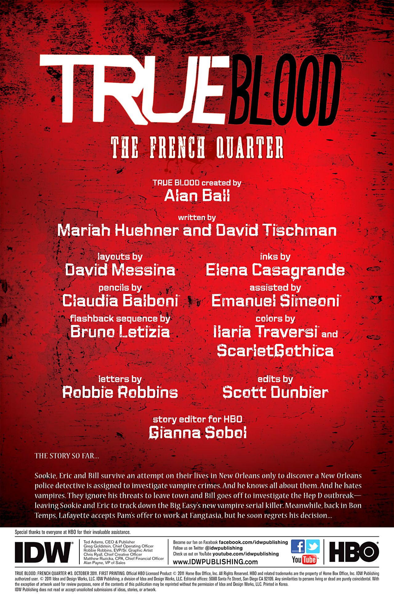 Read online True Blood: French Quarter comic -  Issue #3 - 5