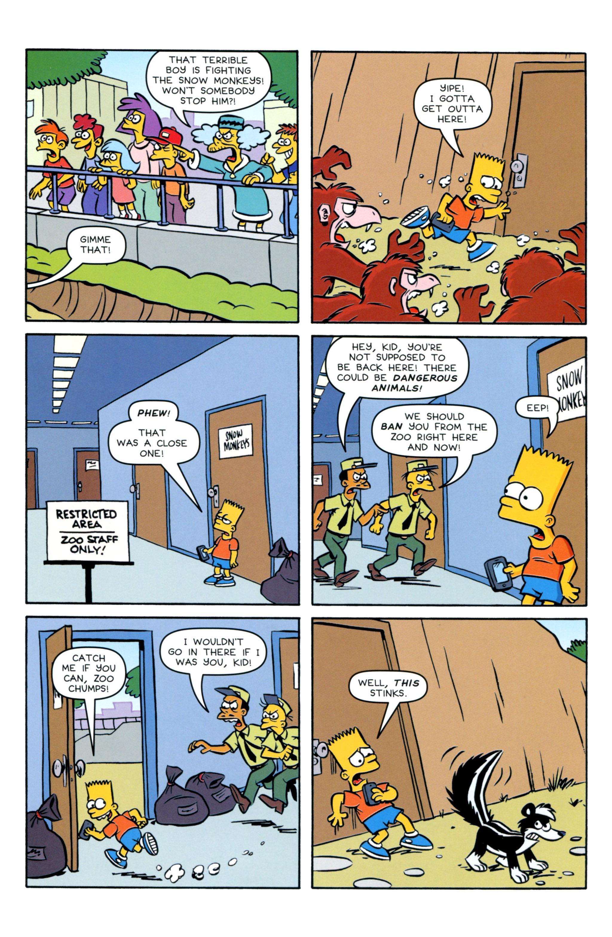 Read online Simpsons Comics Presents Bart Simpson comic -  Issue #93 - 18