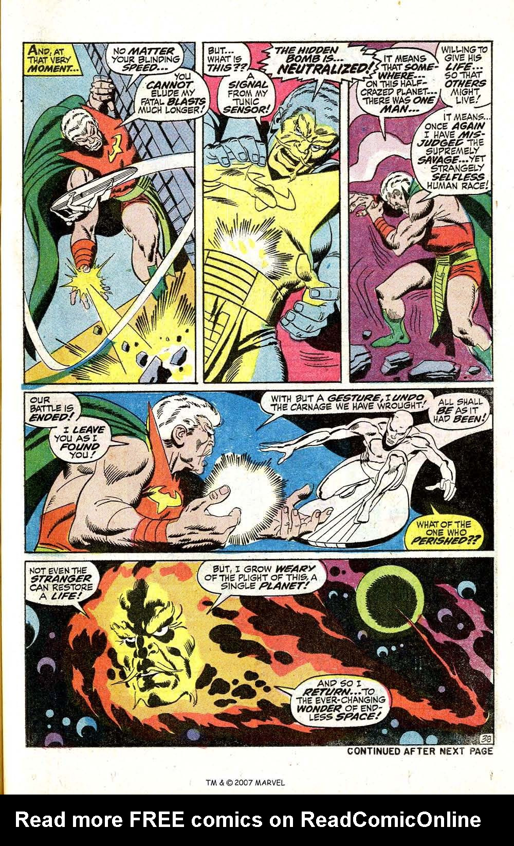 Read online Silver Surfer (1968) comic -  Issue #5 - 47