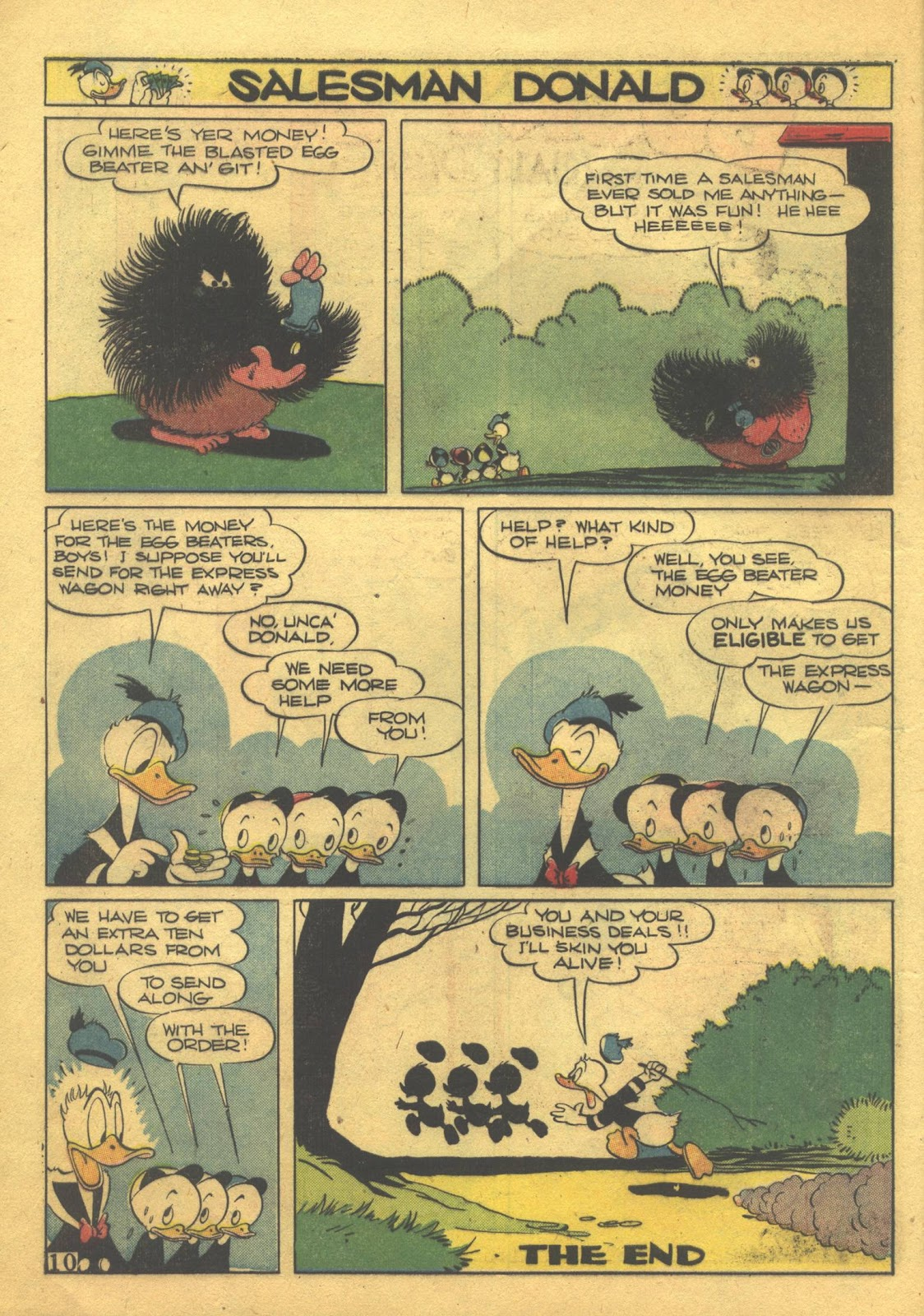 Walt Disney's Comics and Stories issue 39 - Page 12