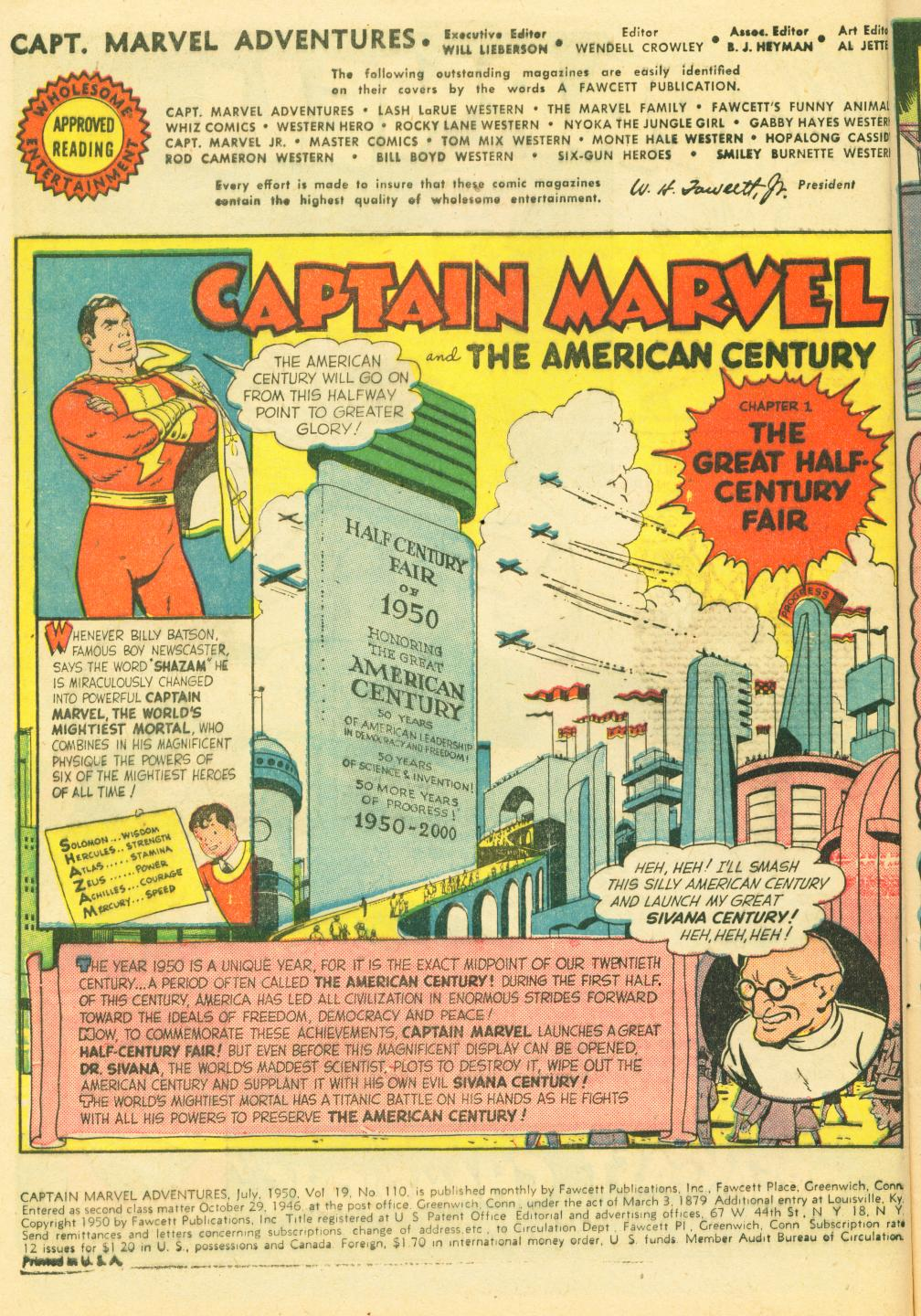 Captain Marvel Adventures 110 Page 4