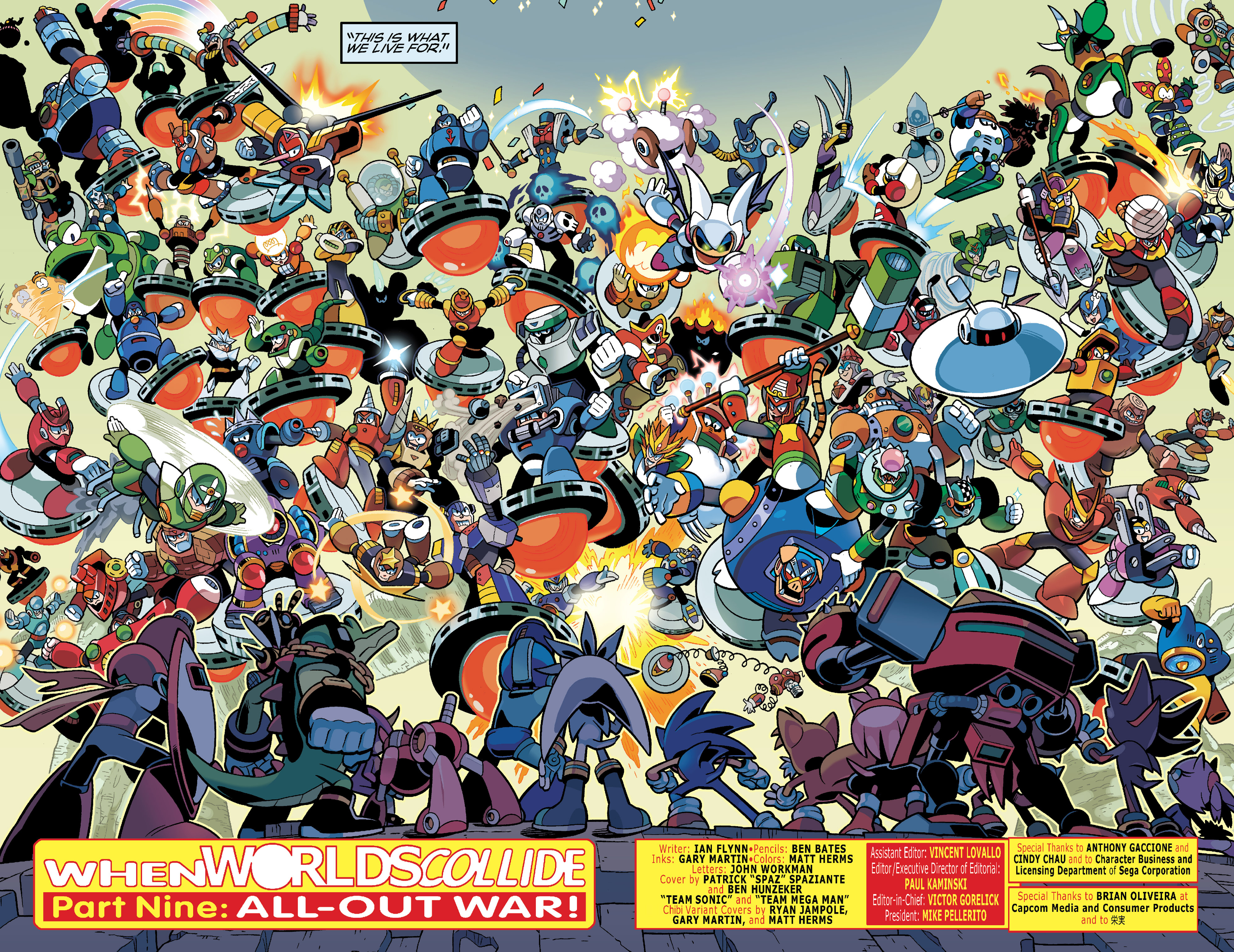 Read online Sonic Mega Man Worlds Collide comic -  Issue # Vol 3 - 12