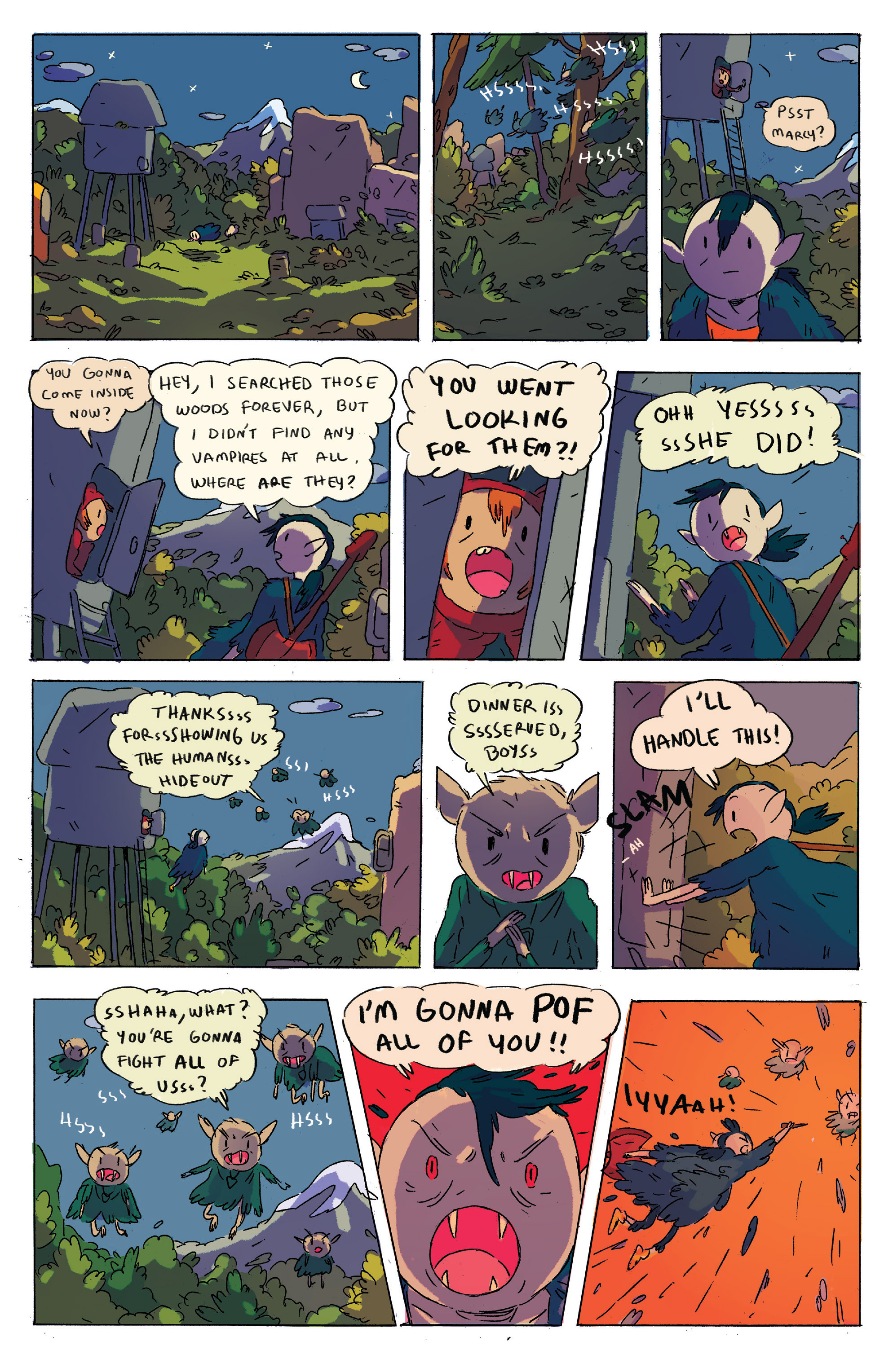 Read online Adventure Time comic -  Issue # _2015 Spoooktacular - 16
