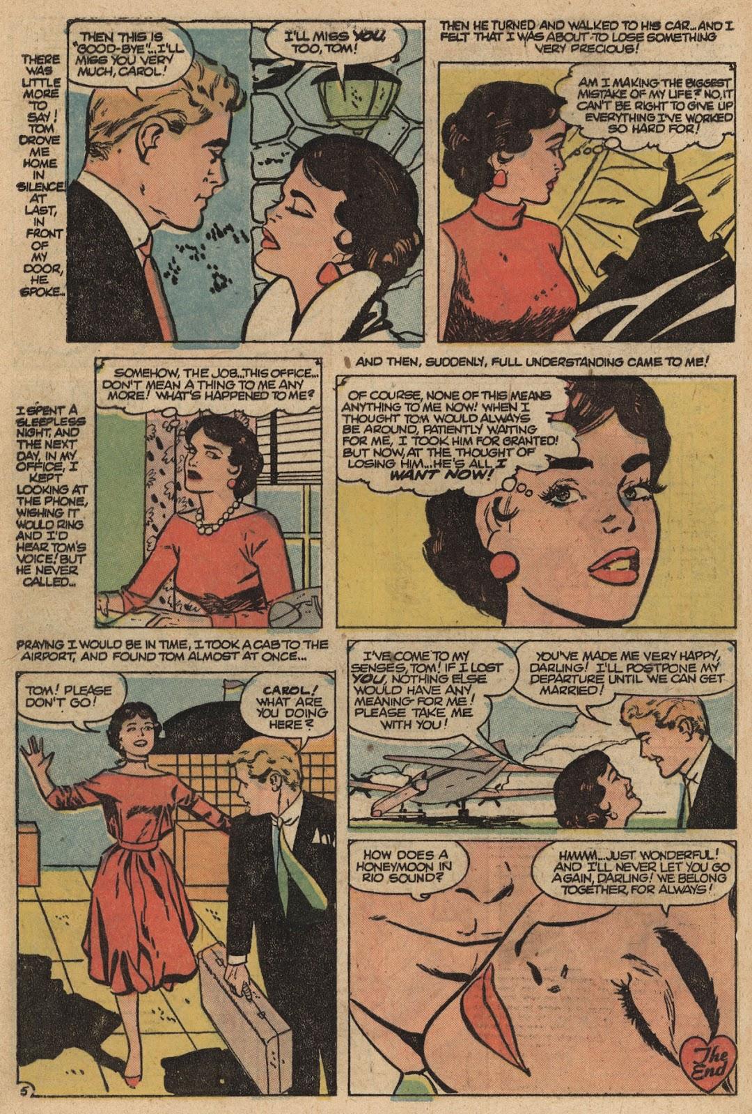 Love Romances (1949) issue 66 - Page 32