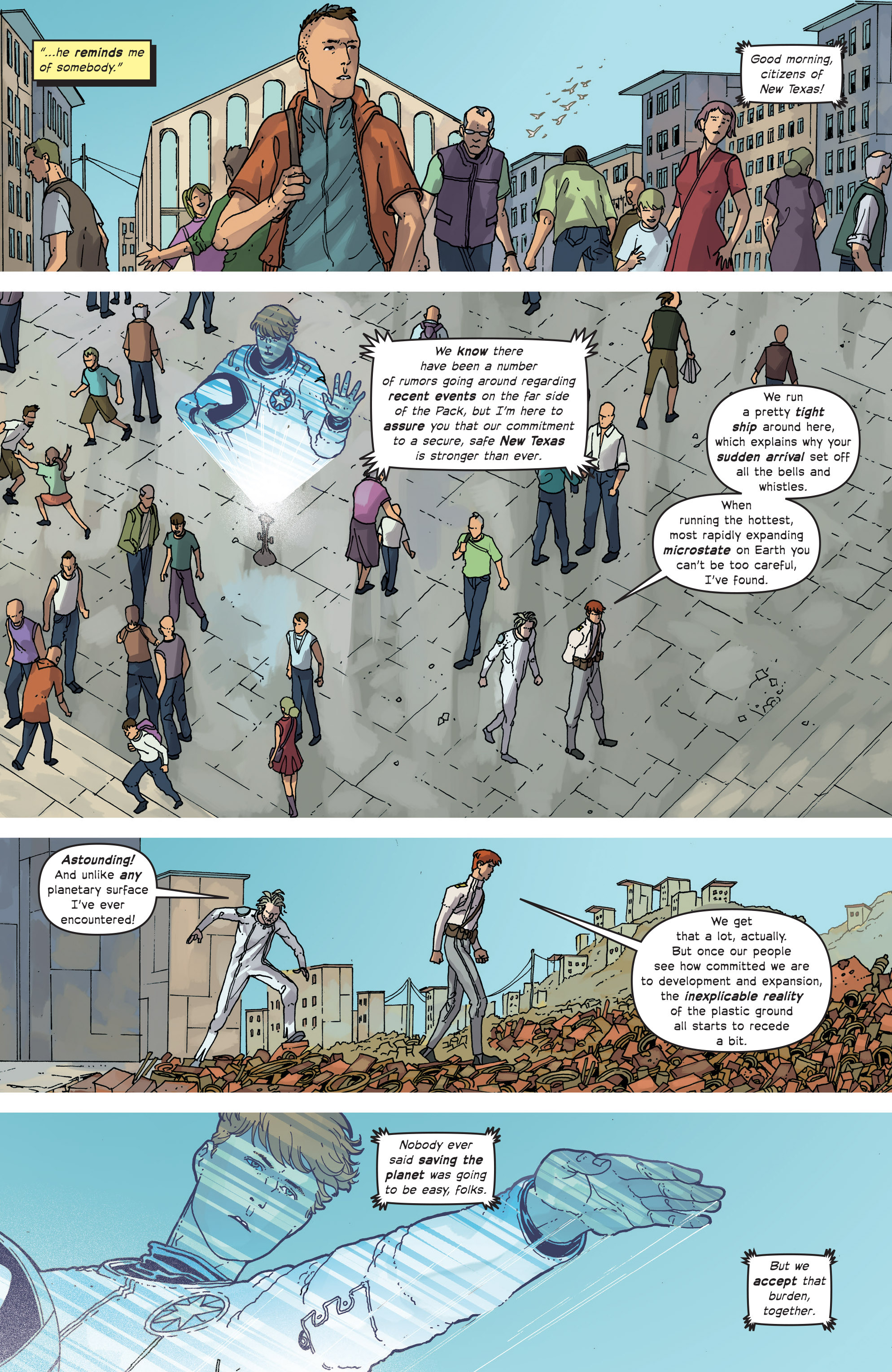 Read online Great Pacific comic -  Issue #13 - 11
