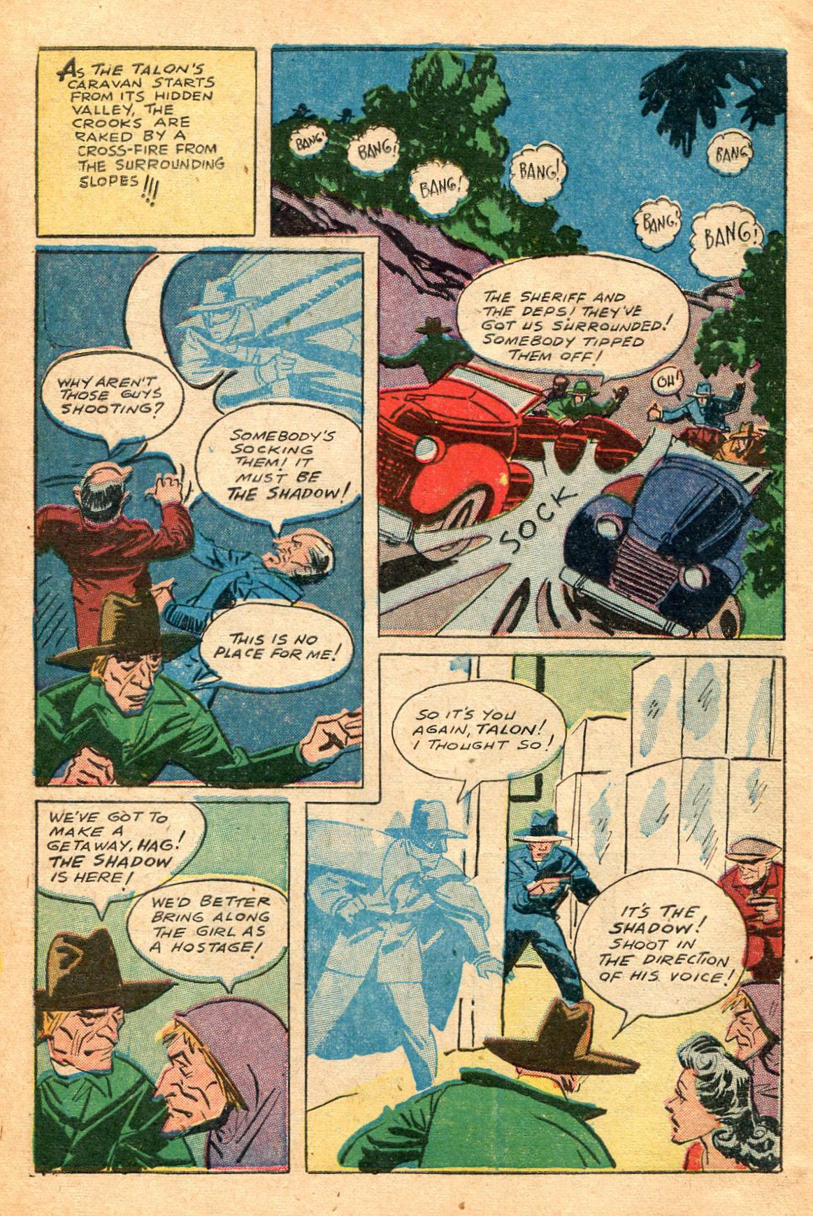 Read online Shadow Comics comic -  Issue #60 - 14