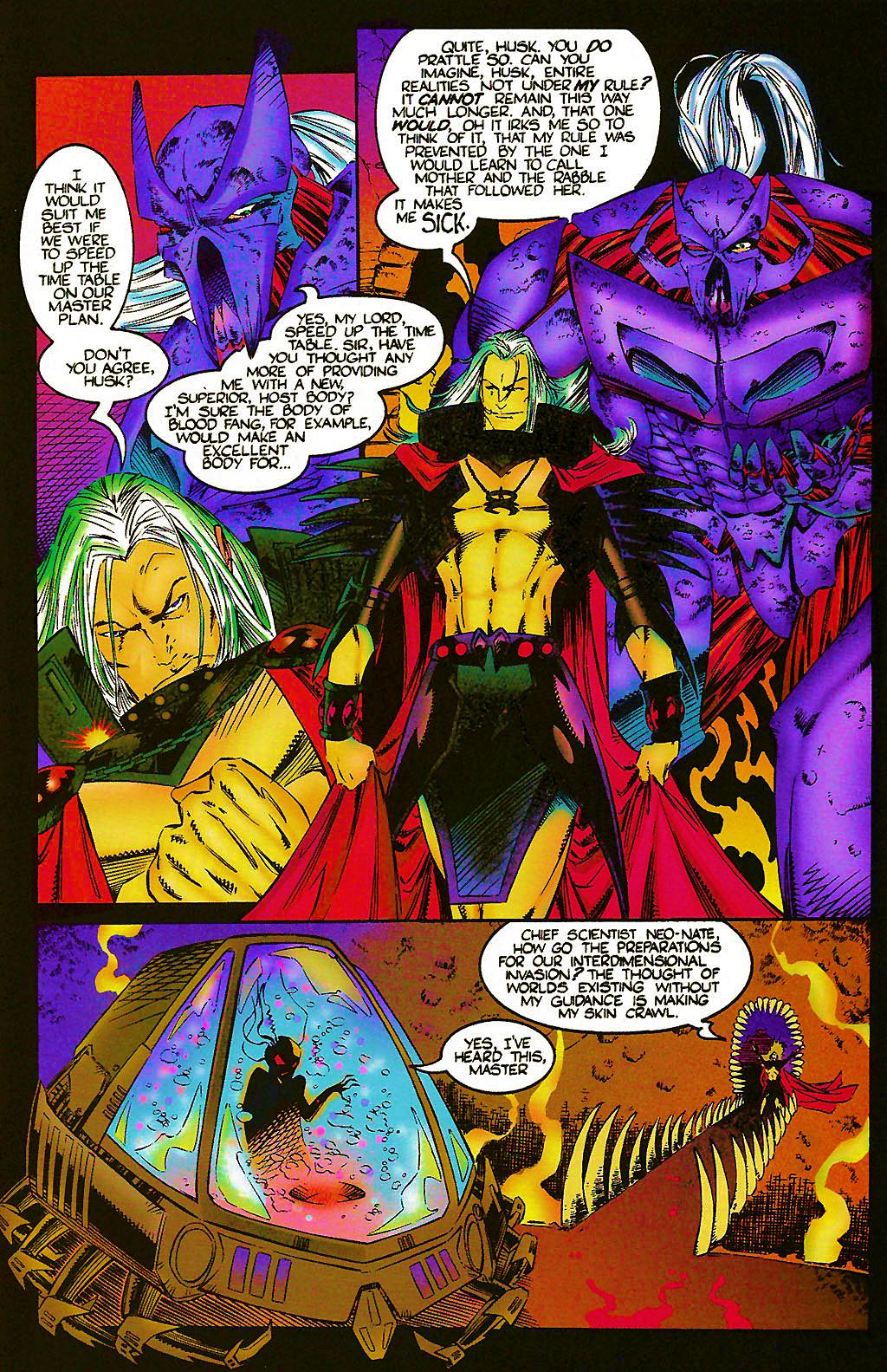 Read online Chains of Chaos comic -  Issue #1 - 25