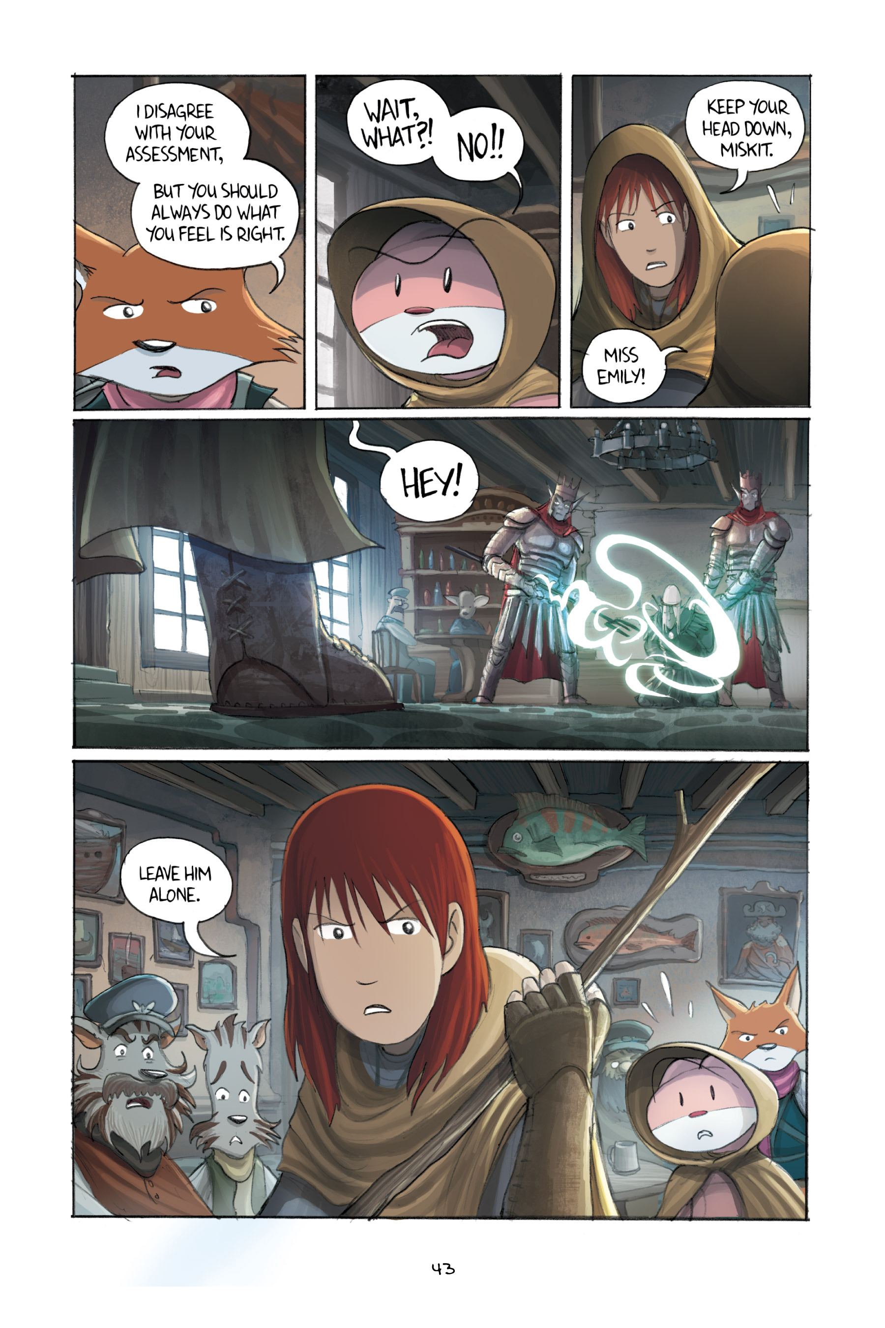 Read online Amulet comic -  Issue #3 - 42
