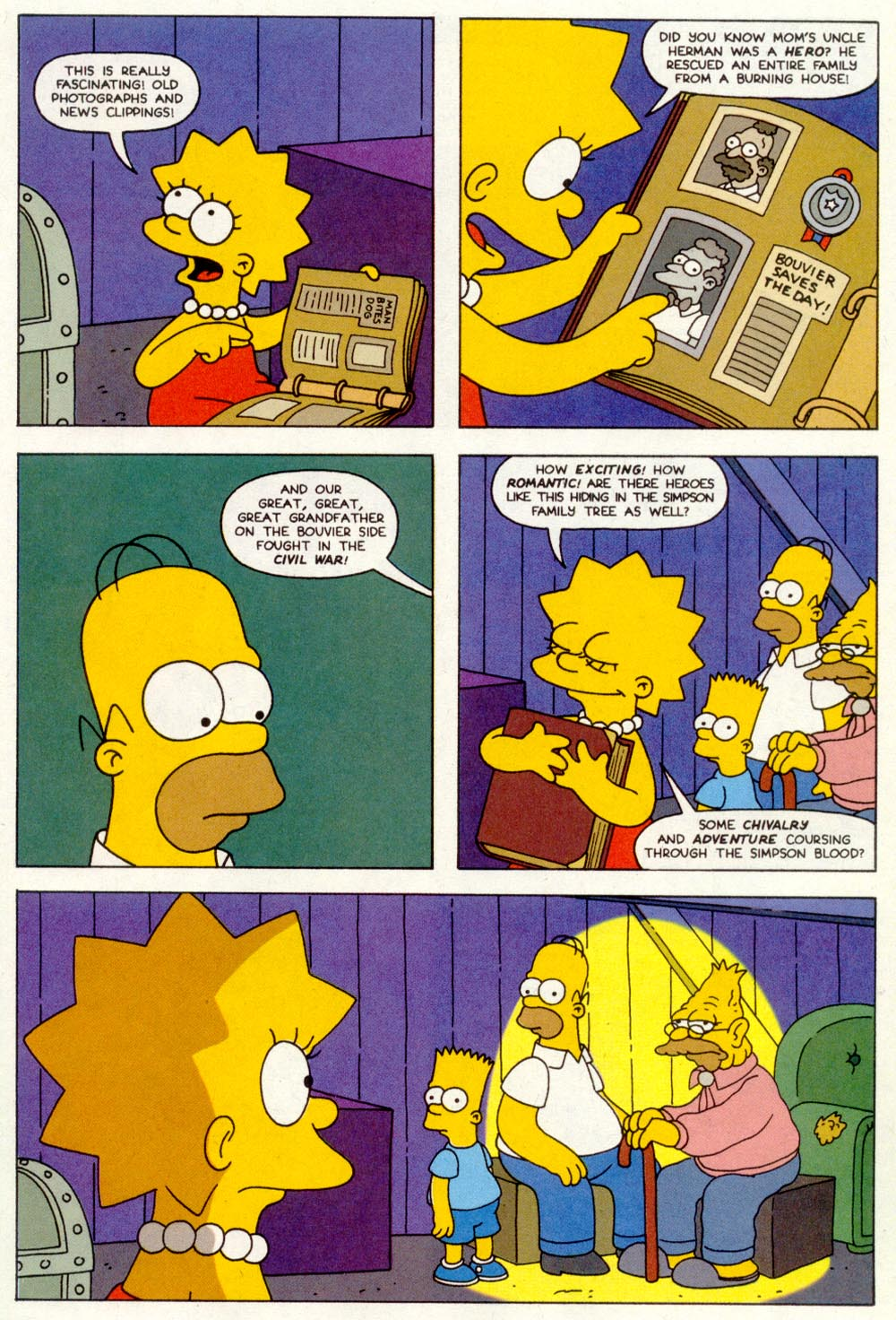 Read online Treehouse of Horror comic -  Issue #1 - 21