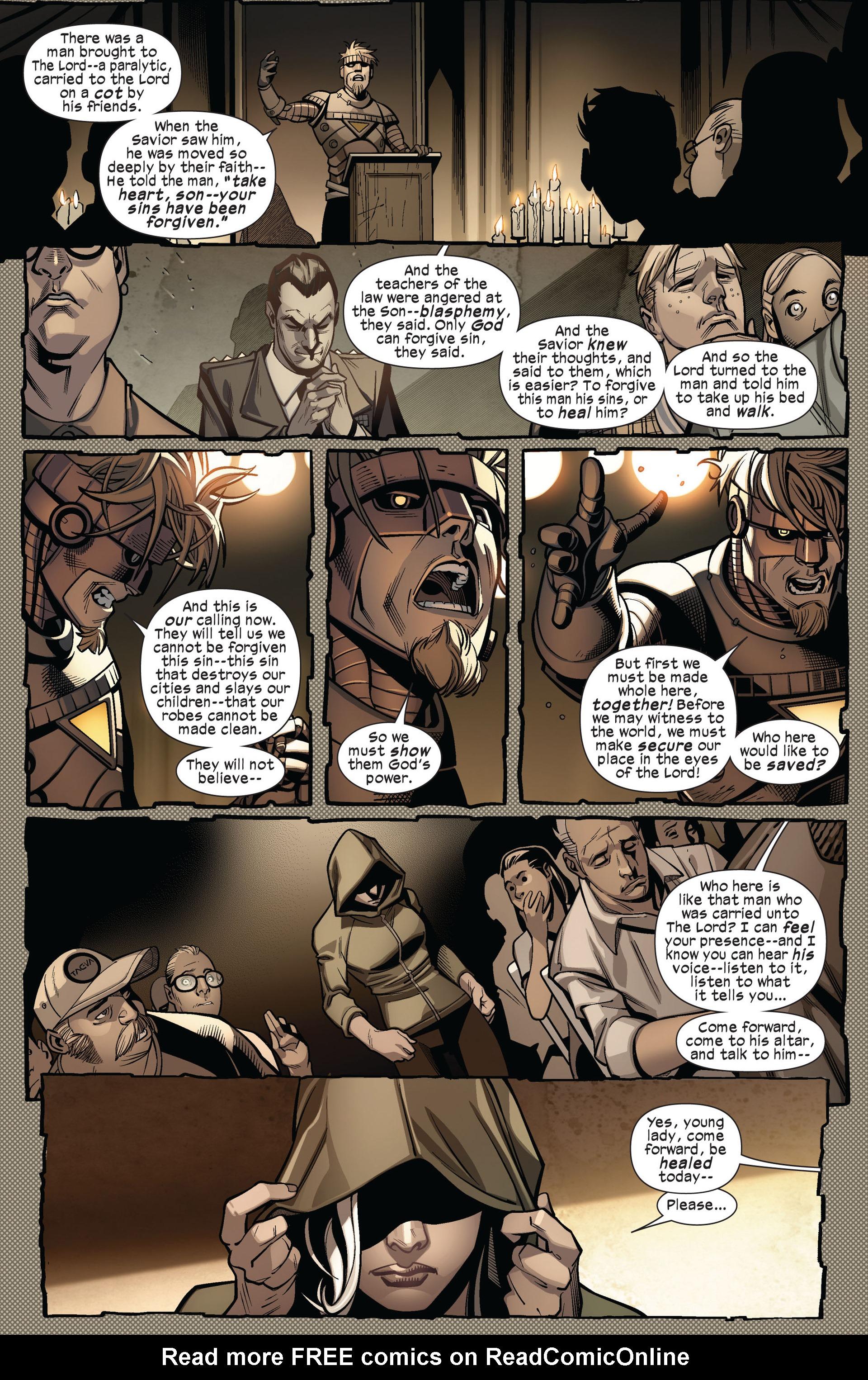 Read online Ultimate Comics X-Men comic -  Issue #4 - 20