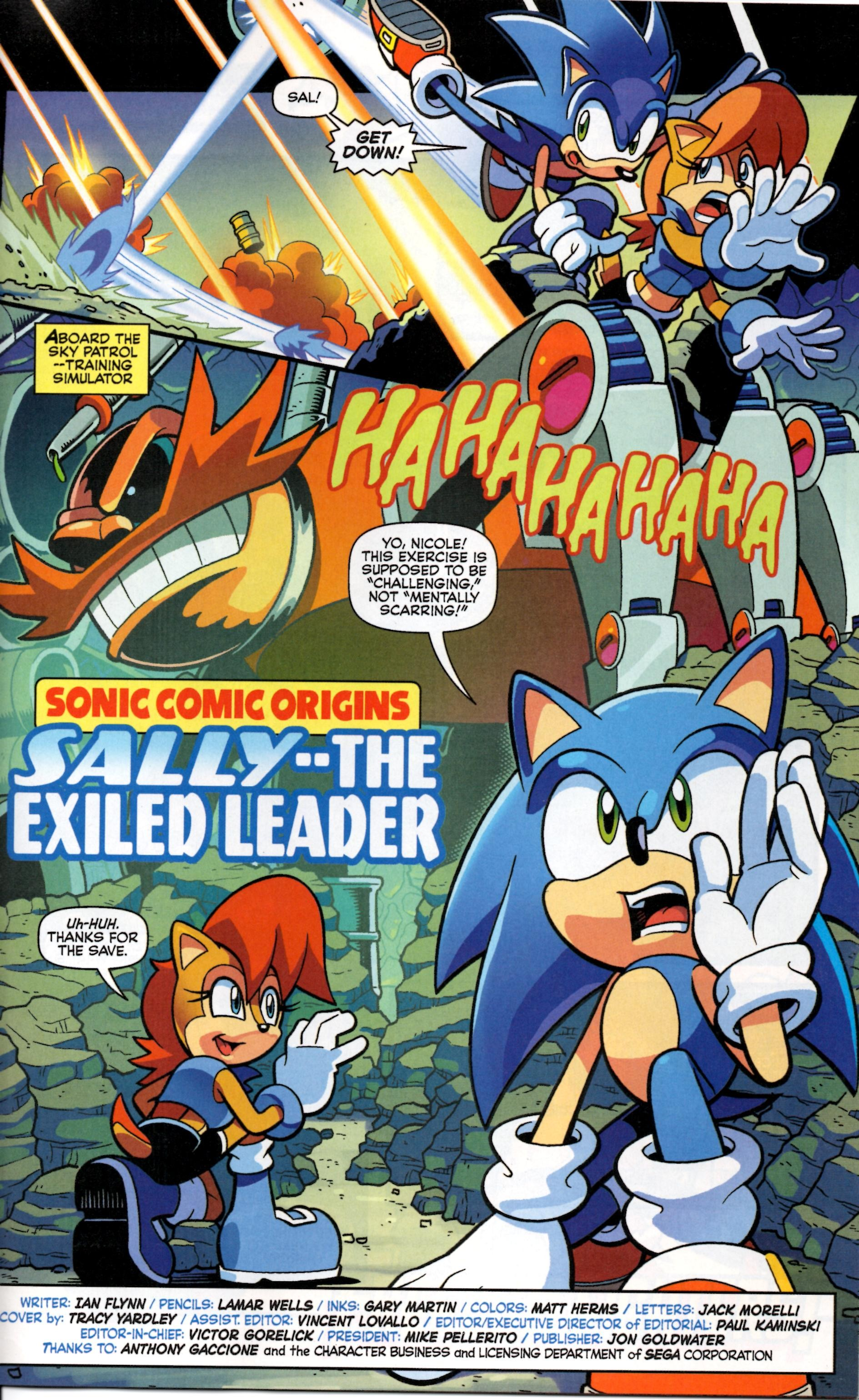 Sonic komiks porno