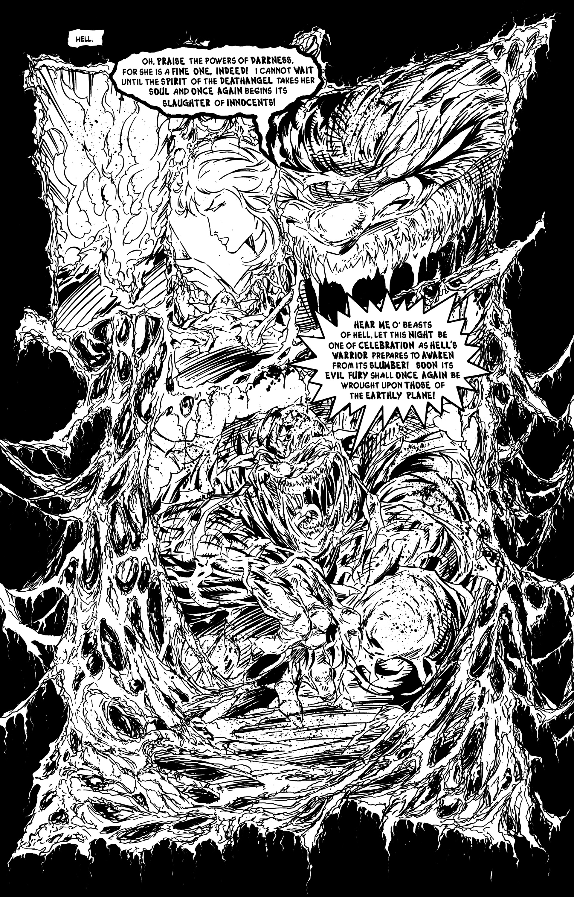 Read online DeathAngel comic -  Issue # Full - 10