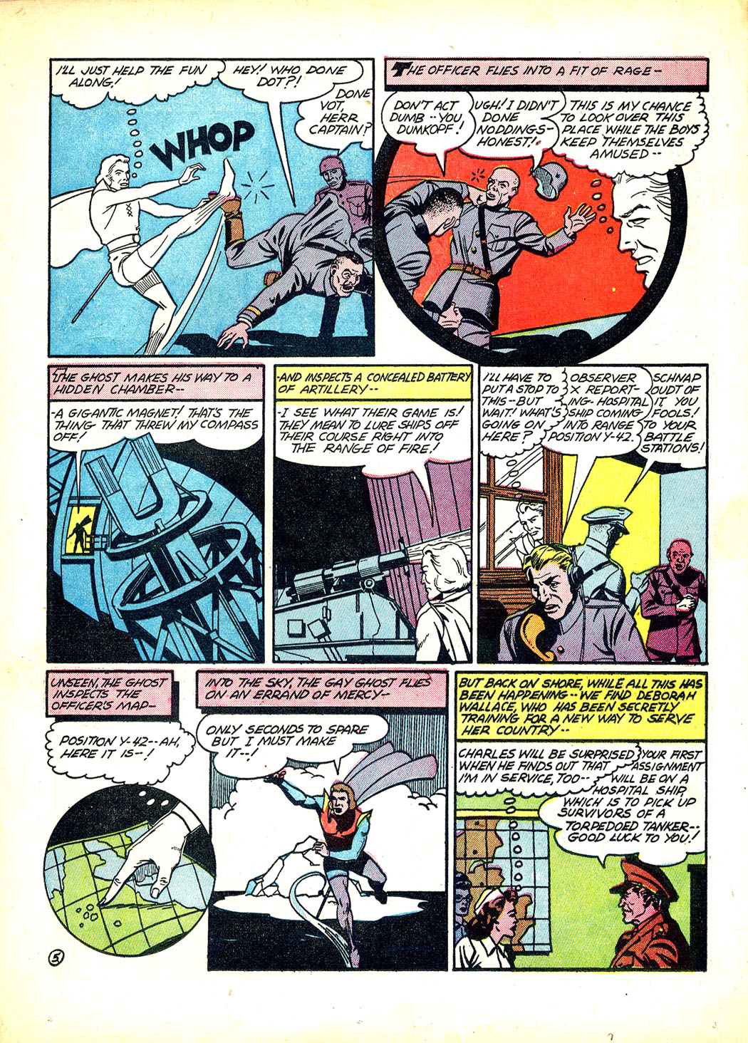 Read online Sensation (Mystery) Comics comic -  Issue #12 - 29