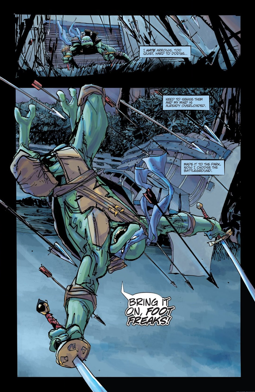 Read online Teenage Mutant Ninja Turtles: The IDW Collection comic -  Issue # TPB 8 (Part 3) - 8