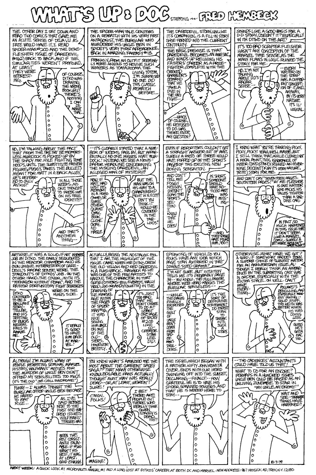Read online The Nearly Complete Essential Hembeck Archives Omnibus comic -  Issue # TPB (Part 4) - 38