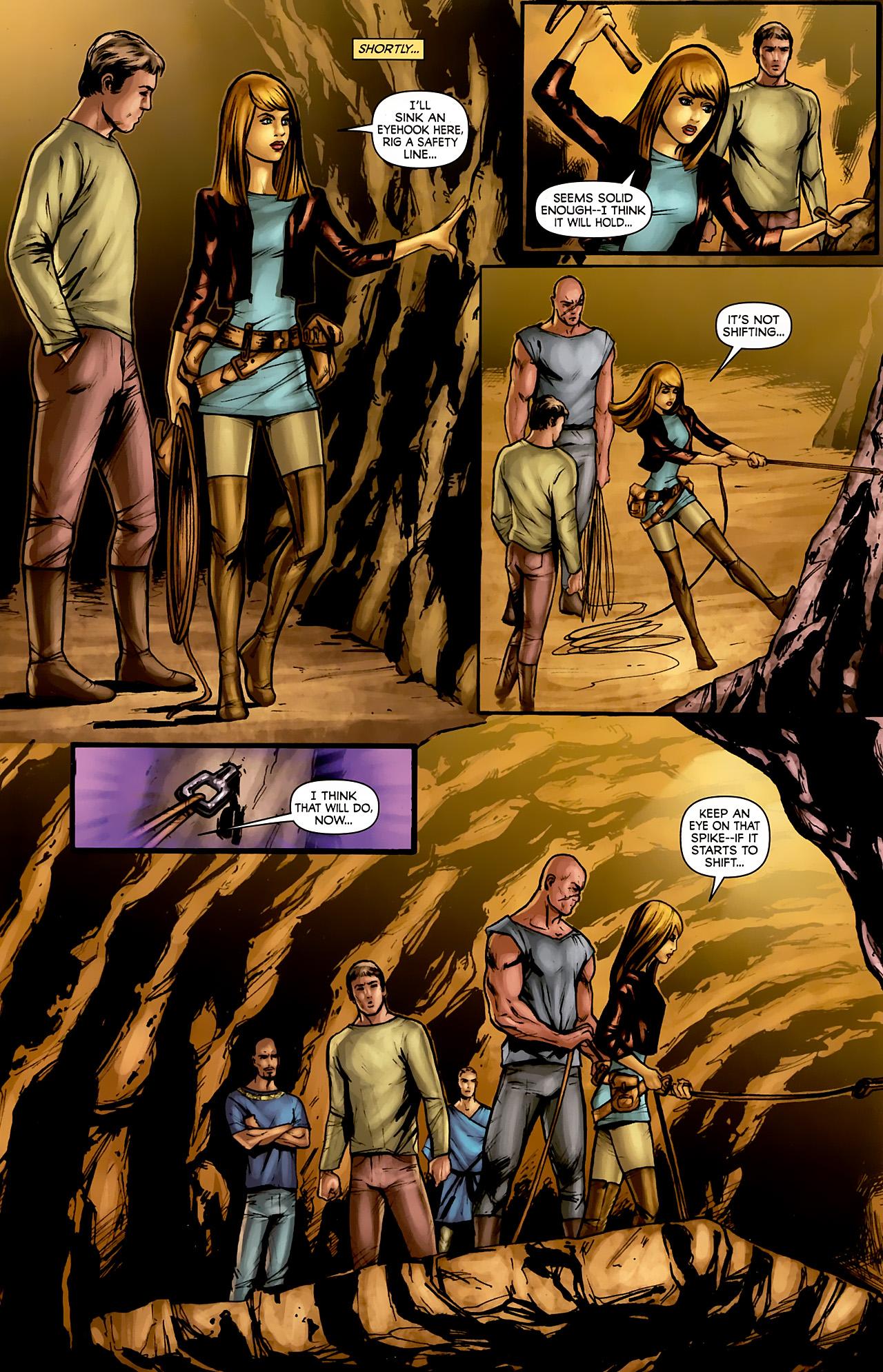 Read online Stargate: Daniel Jackson comic -  Issue #3 - 14
