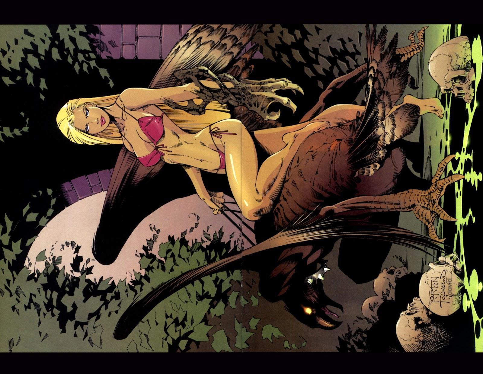 Read online Darkchylde Summer Swimsuit Spectacular comic -  Issue # Full - 9
