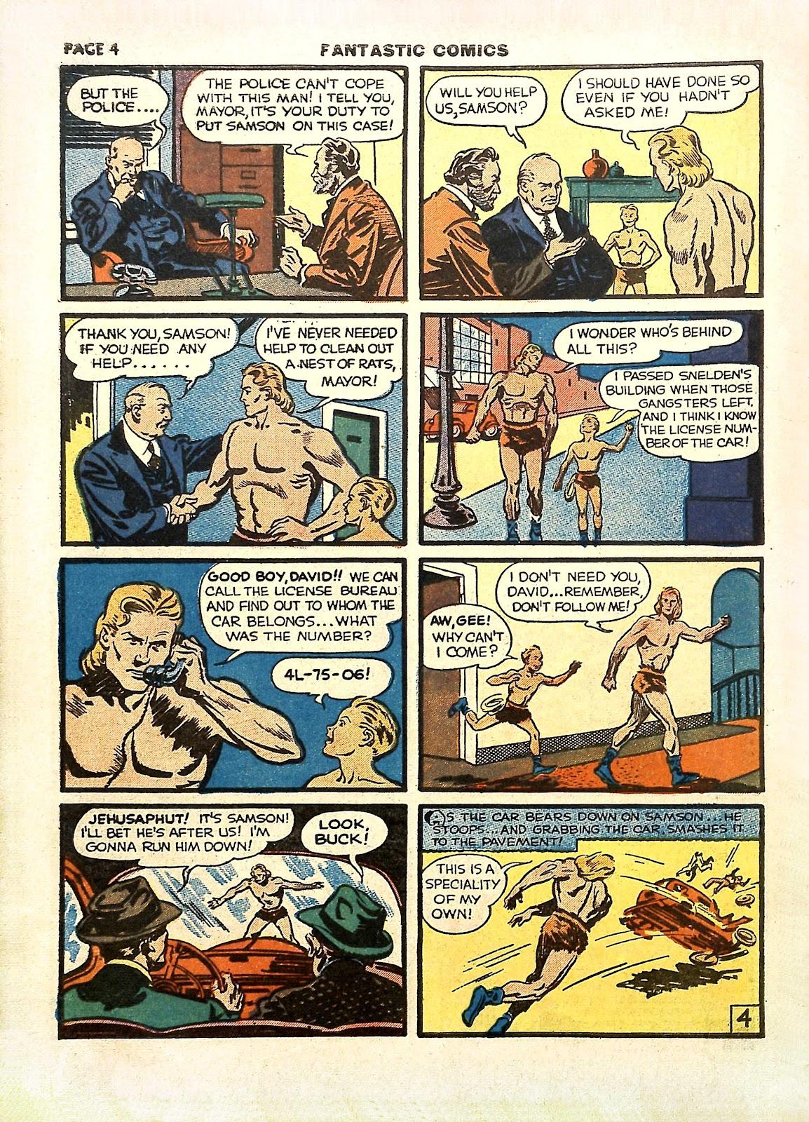 Read online Fantastic Comics comic -  Issue #11 - 7