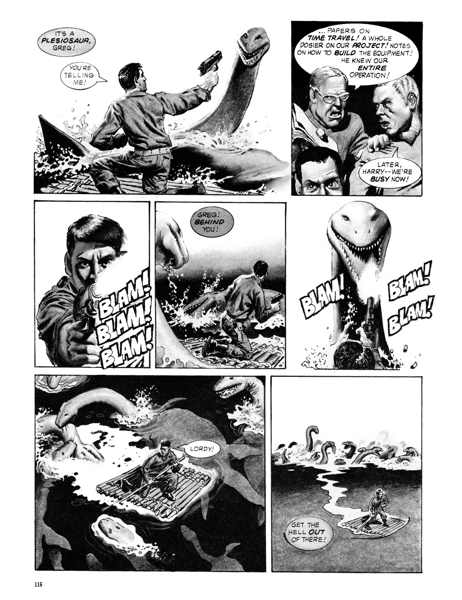 Read online Eerie Archives comic -  Issue # TPB 18 - 117