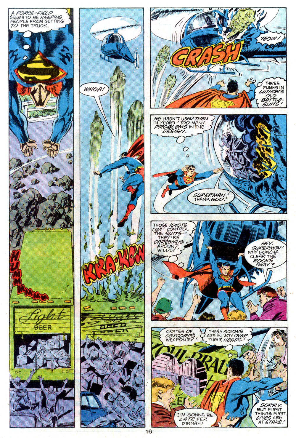Read online Adventures of Superman (1987) comic -  Issue #446 - 17