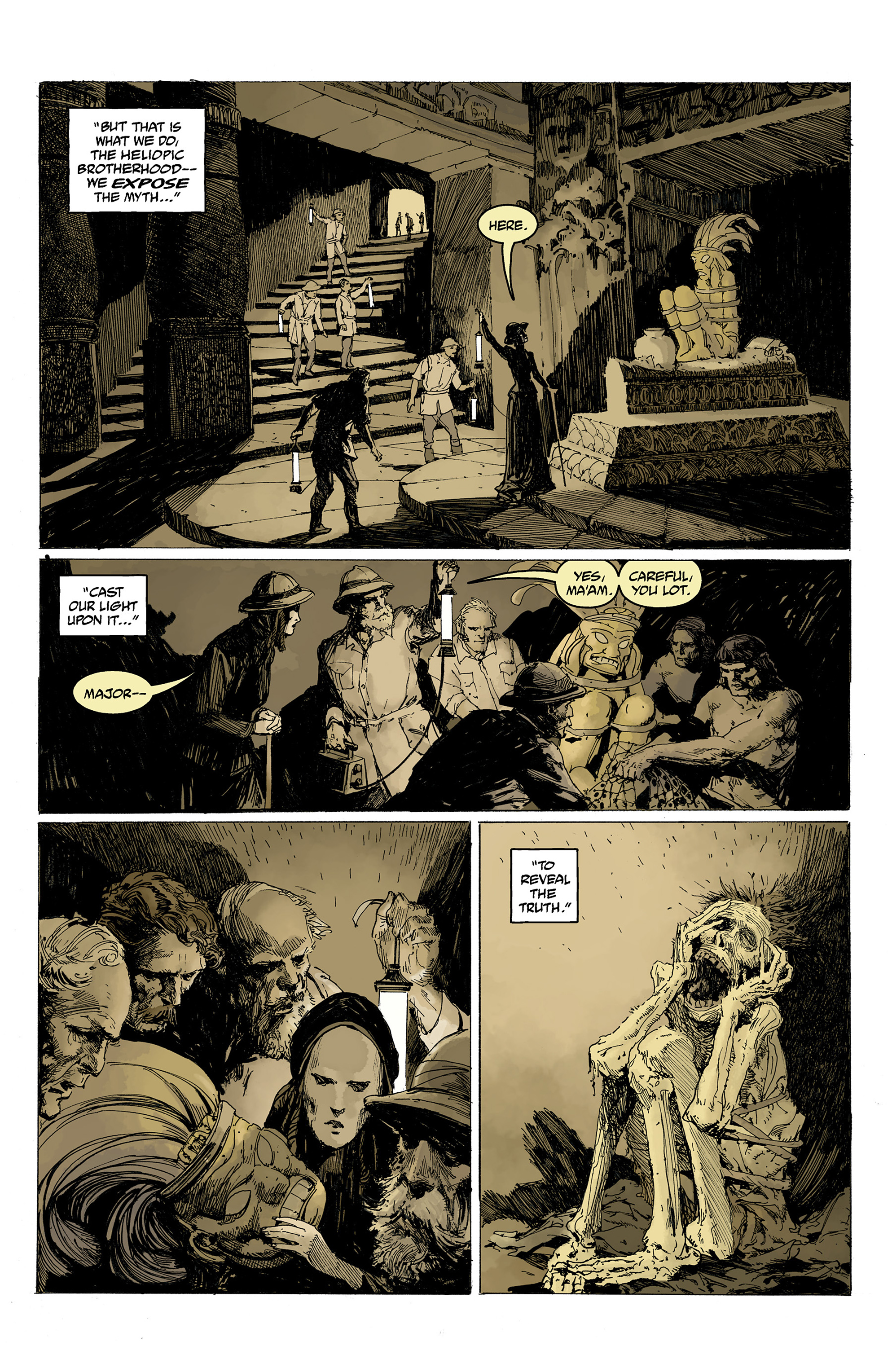 Read online Hellboy: Into the Silent Sea comic -  Issue # Full - 28