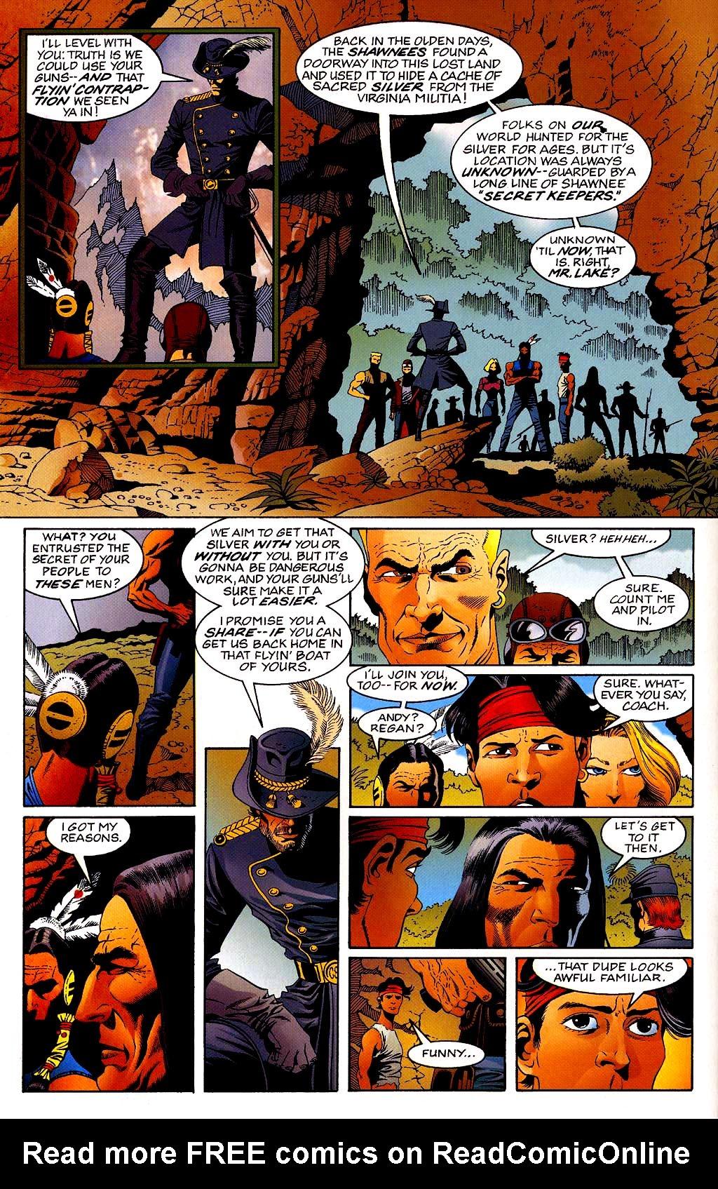 Read online Turok, Dinosaur Hunter (1993) comic -  Issue #40 - 6