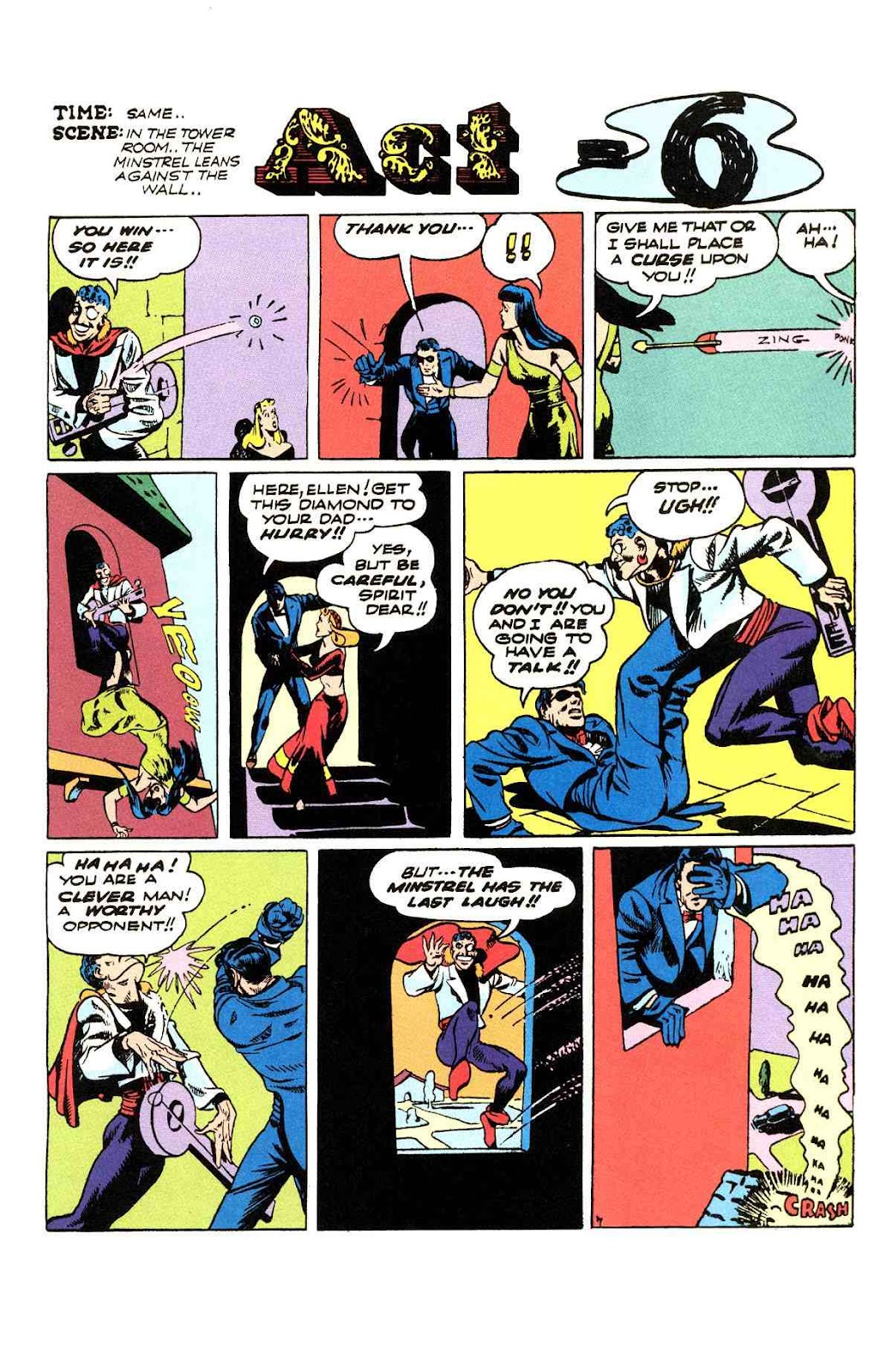 Read online Will Eisner's The Spirit Archives comic -  Issue # TPB 3 (Part 2) - 84