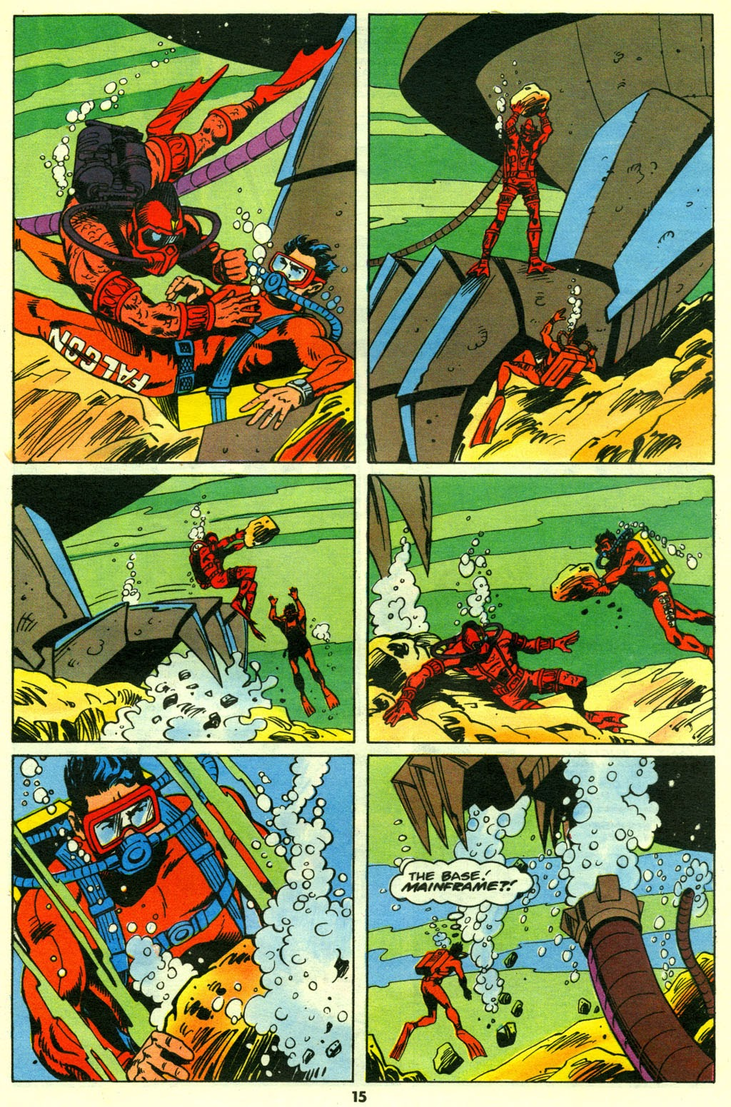 G.I. Joe European Missions issue 14 - Page 16