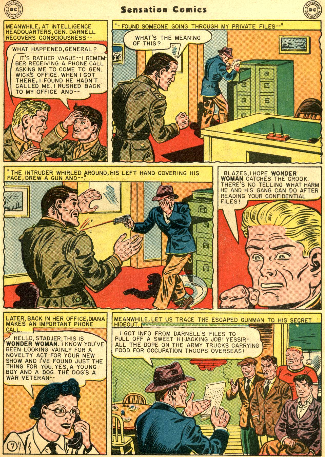 Read online Sensation (Mystery) Comics comic -  Issue #53 - 9
