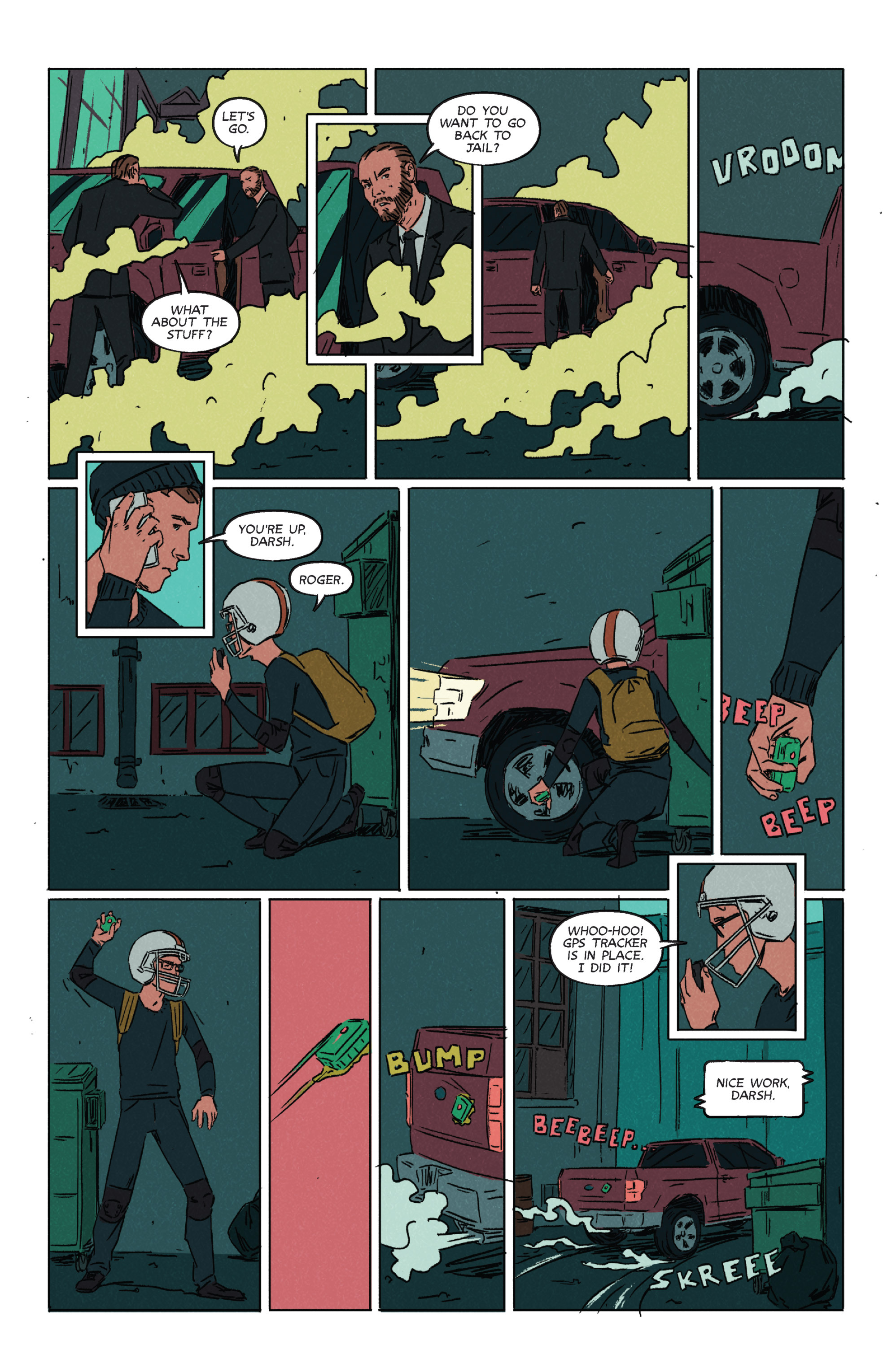 Read online Night Owl Society comic -  Issue #2 - 8