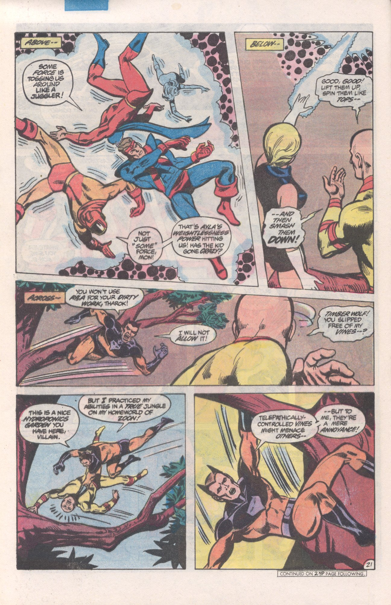 Legion of Super-Heroes (1980) 271 Page 21