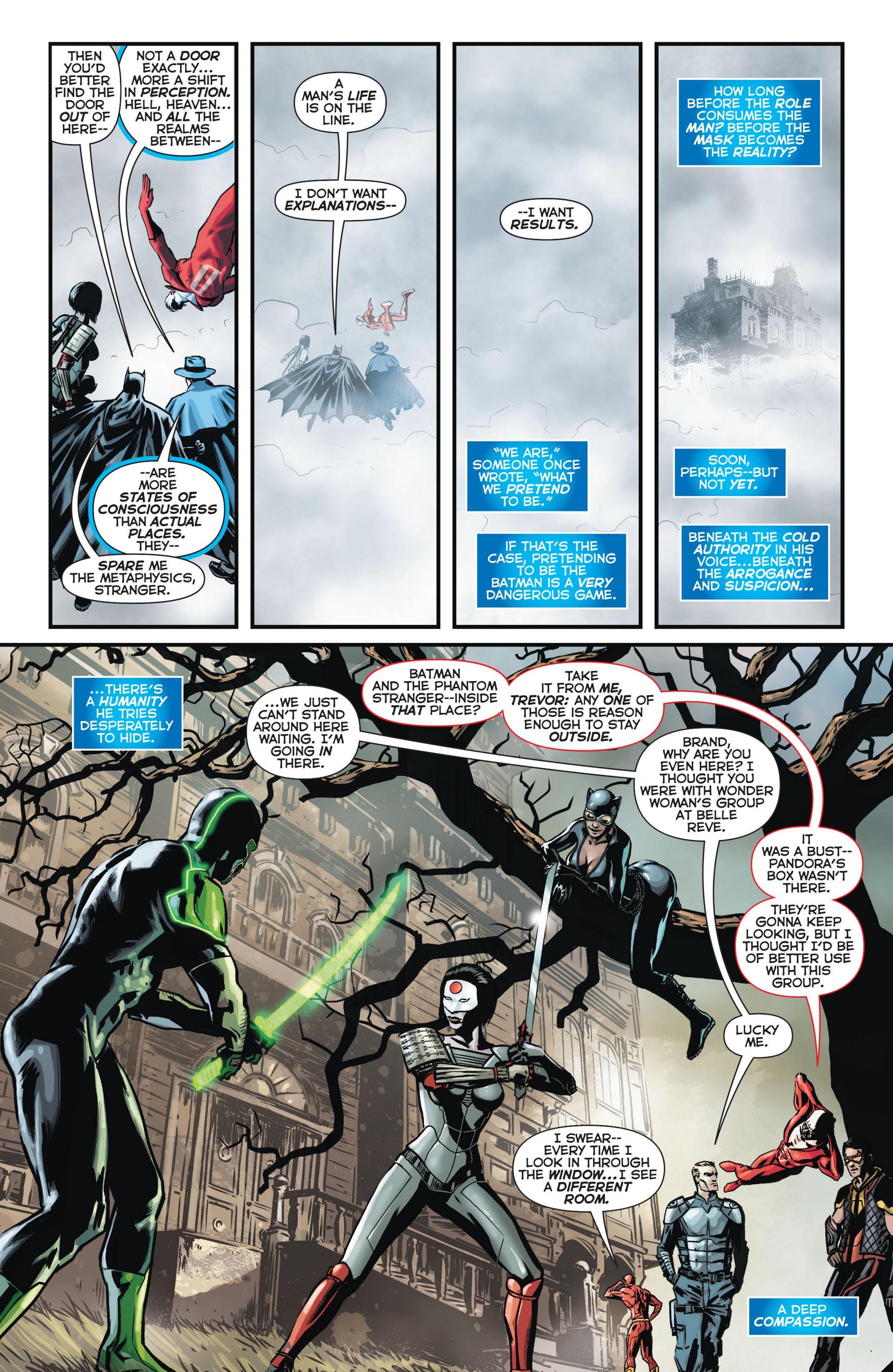 Read online Trinity of Sin: The Phantom Stranger comic -  Issue #11 - 5