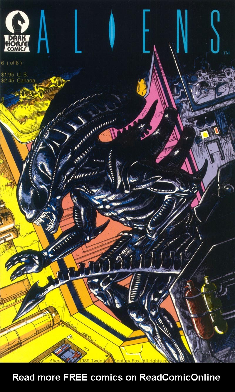 Read online Aliens (1988) comic -  Issue #6 - 1