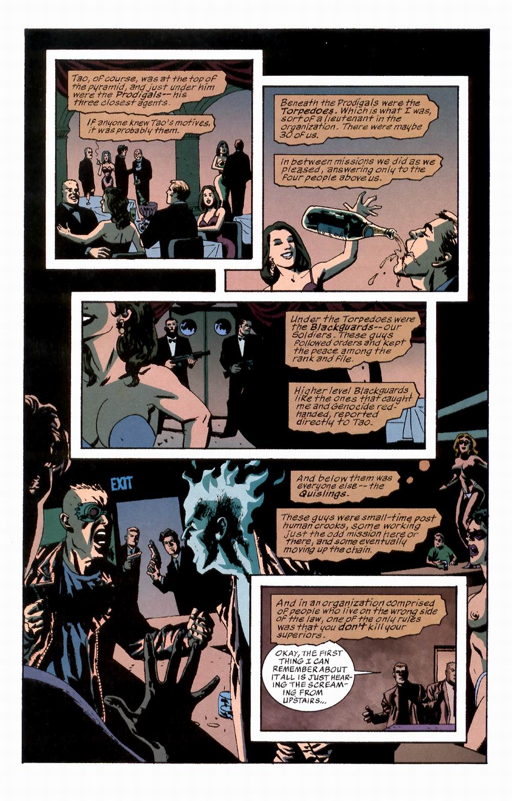 Read online Sleeper comic -  Issue #2 - 15