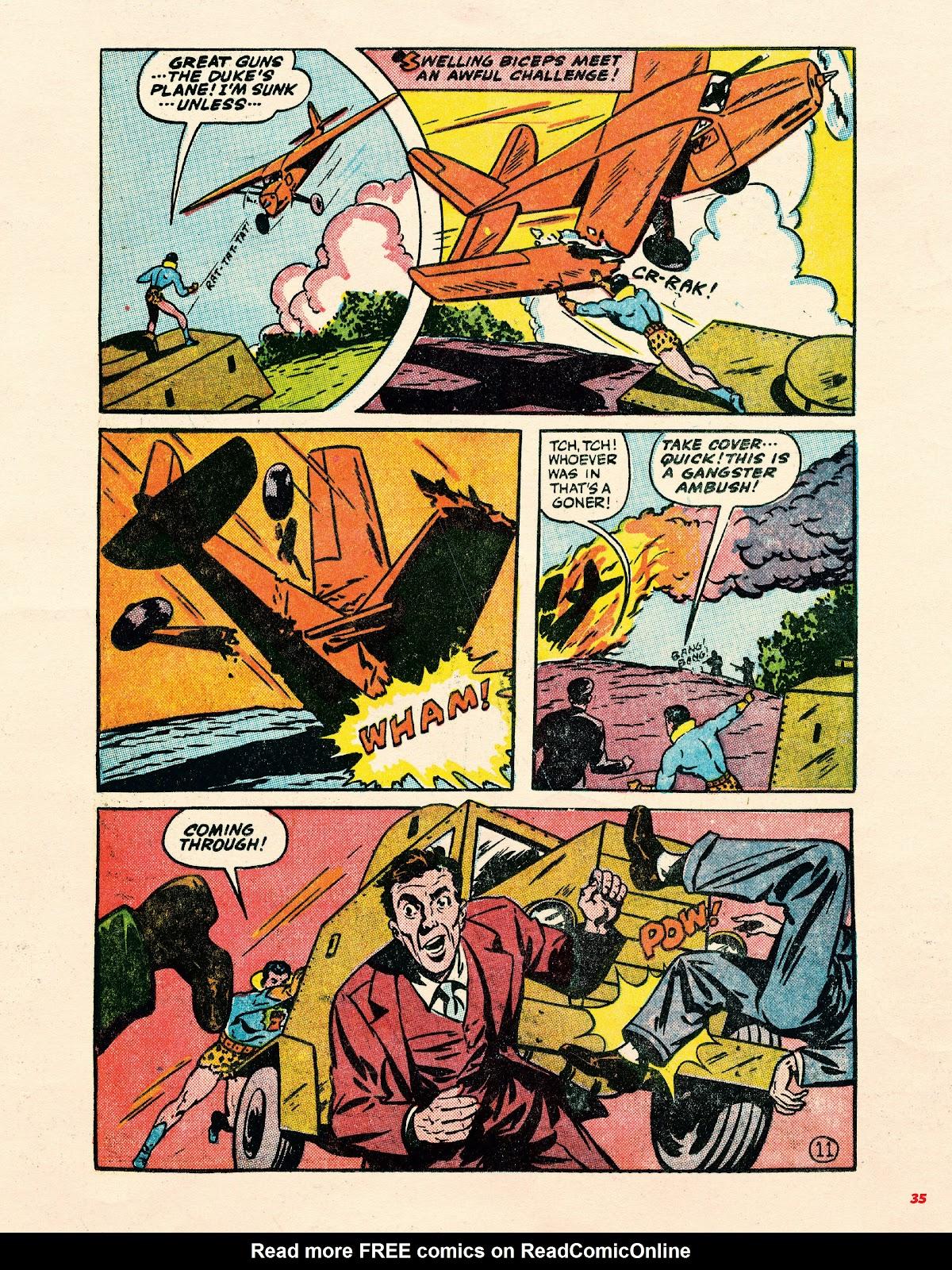 Read online Super Weird Heroes comic -  Issue # TPB 1 (Part 1) - 34