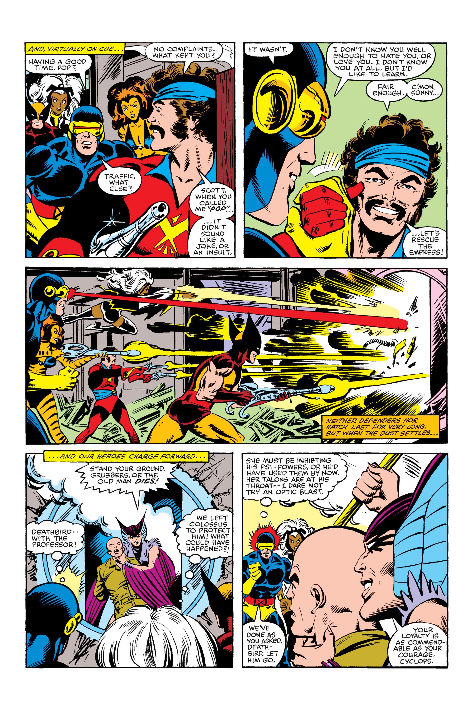 Read online Uncanny X-Men (1963) comic -  Issue #155 - 22