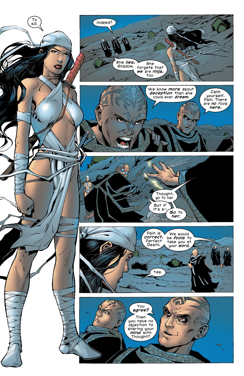 Read online Elektra (2001) comic -  Issue # _TPB Elektra by Greg Rucka Ultimate Collection (Part 4) - 58