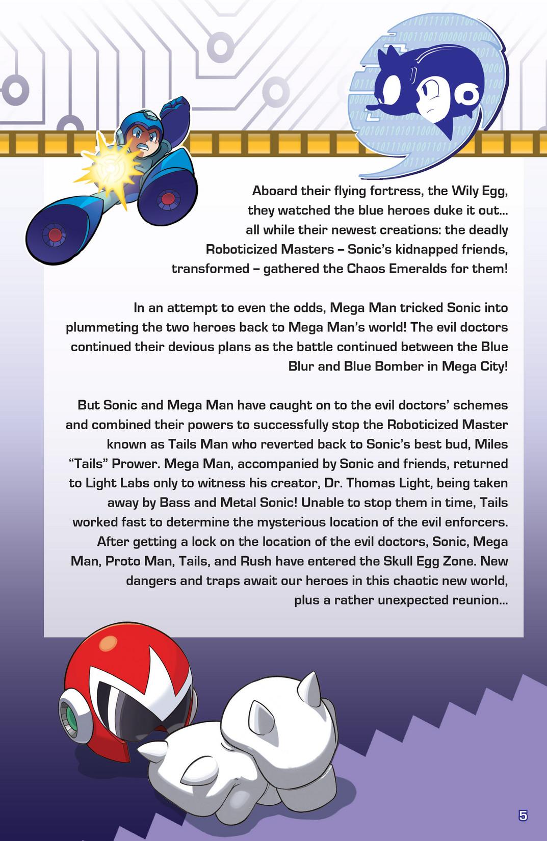 Read online Sonic Mega Man Worlds Collide comic -  Issue # Vol 2 - 6