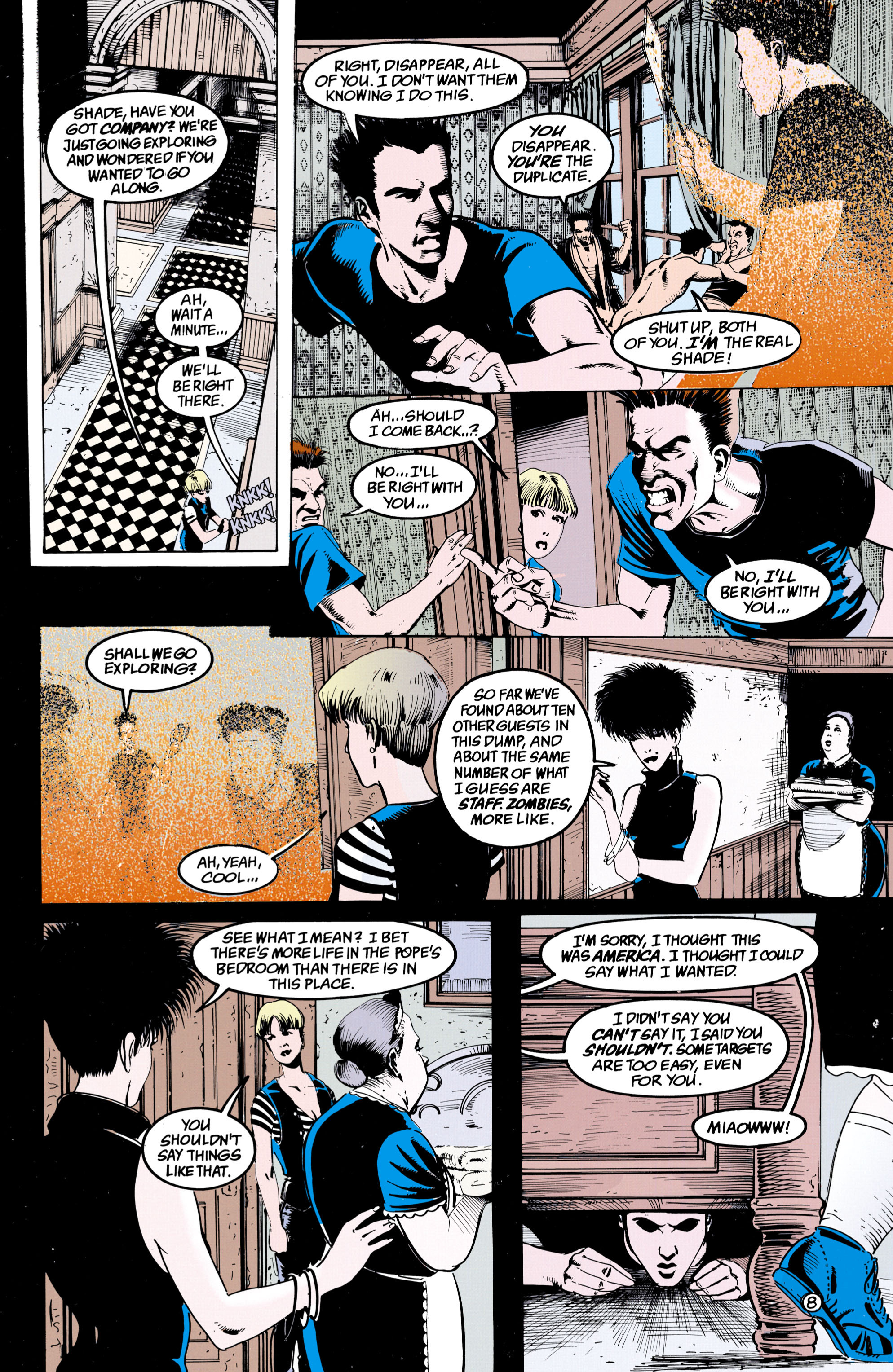 Read online Shade, the Changing Man comic -  Issue #36 - 9