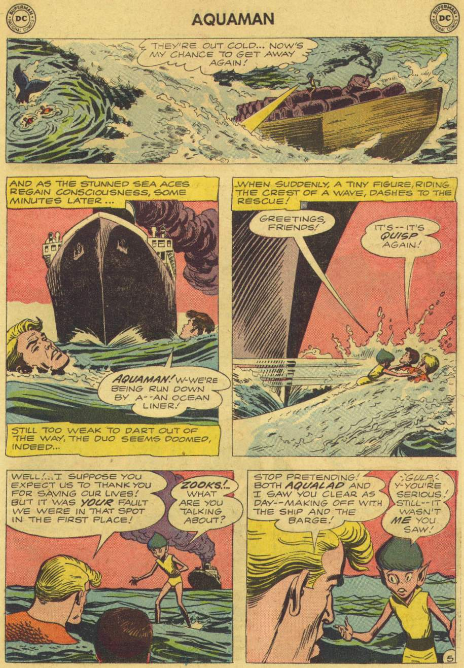 Read online Aquaman (1962) comic -  Issue #6 - 7